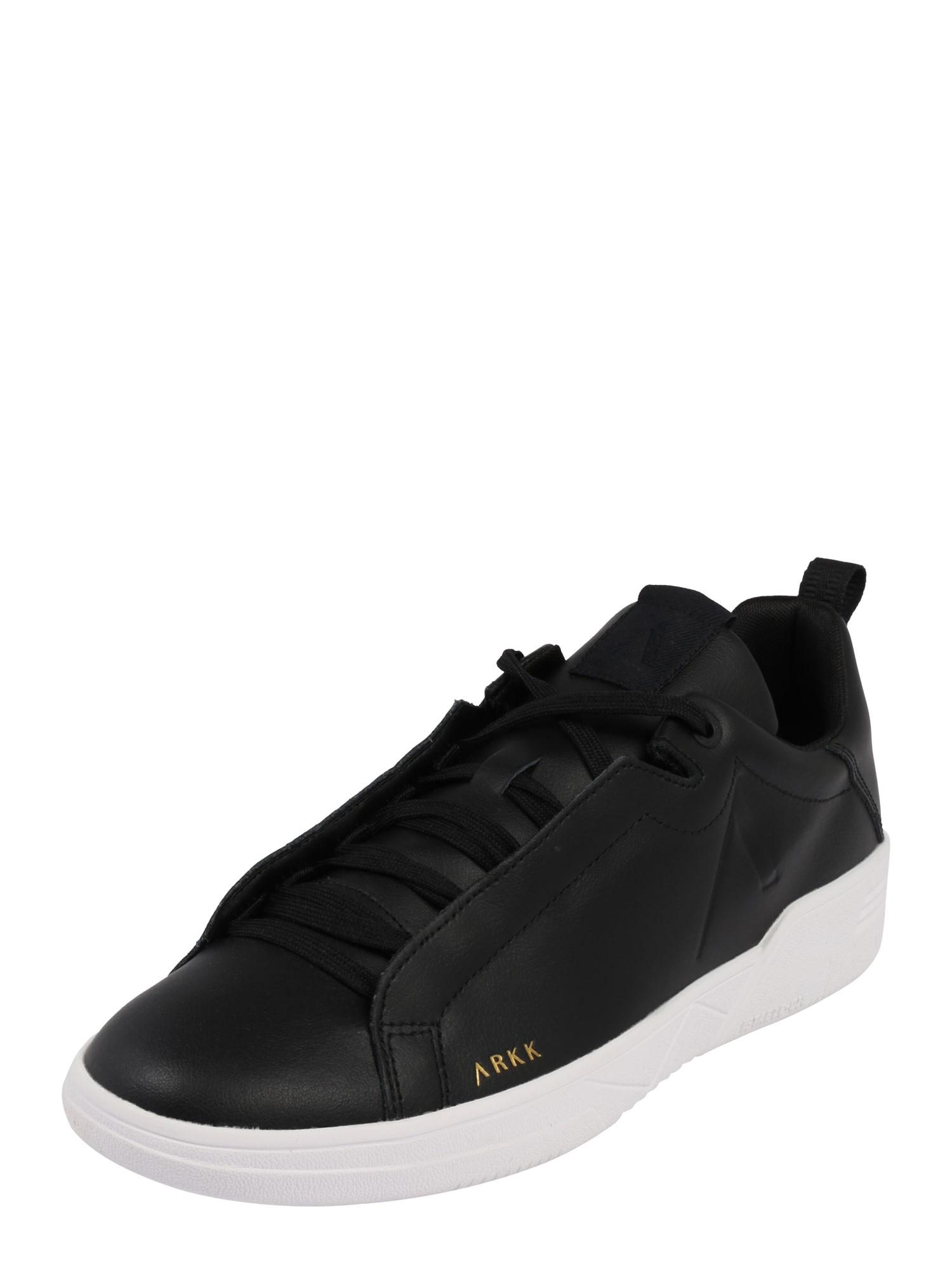 ARKK Copenhagen Nízke tenisky 'Uniklass Leather S-C18'  biela / čierna