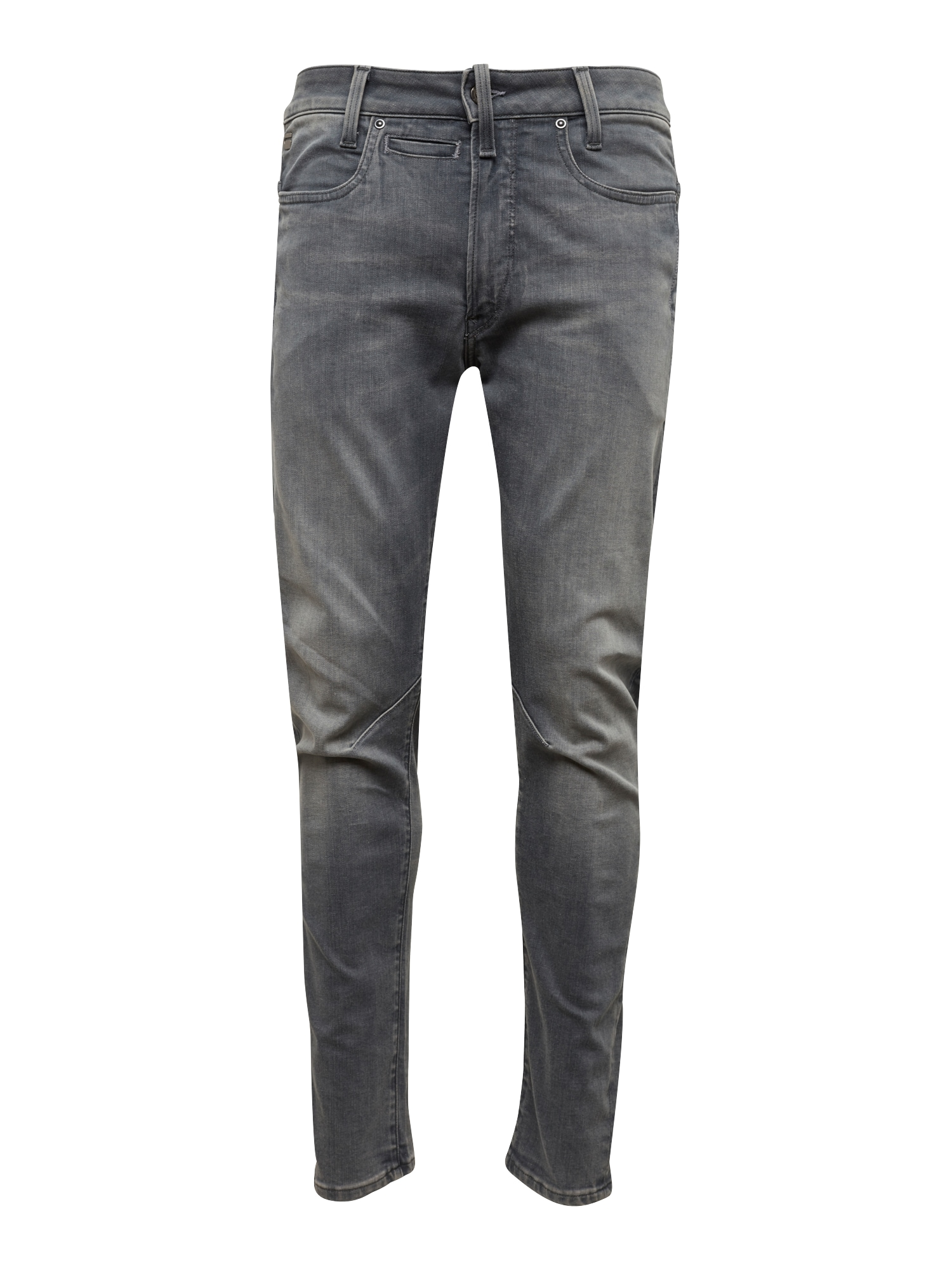 G-STAR RAW Heren Jeans D-Staq 3D Skinny grey denim lichtgrijs