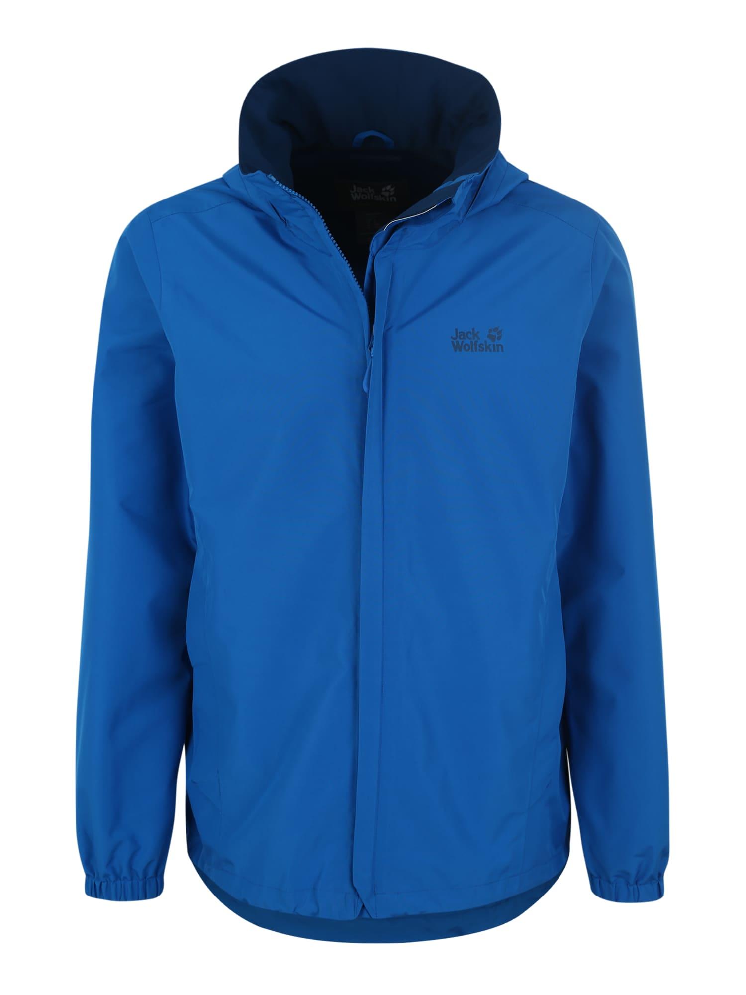 Sportovní bunda Stormy point modrá JACK WOLFSKIN
