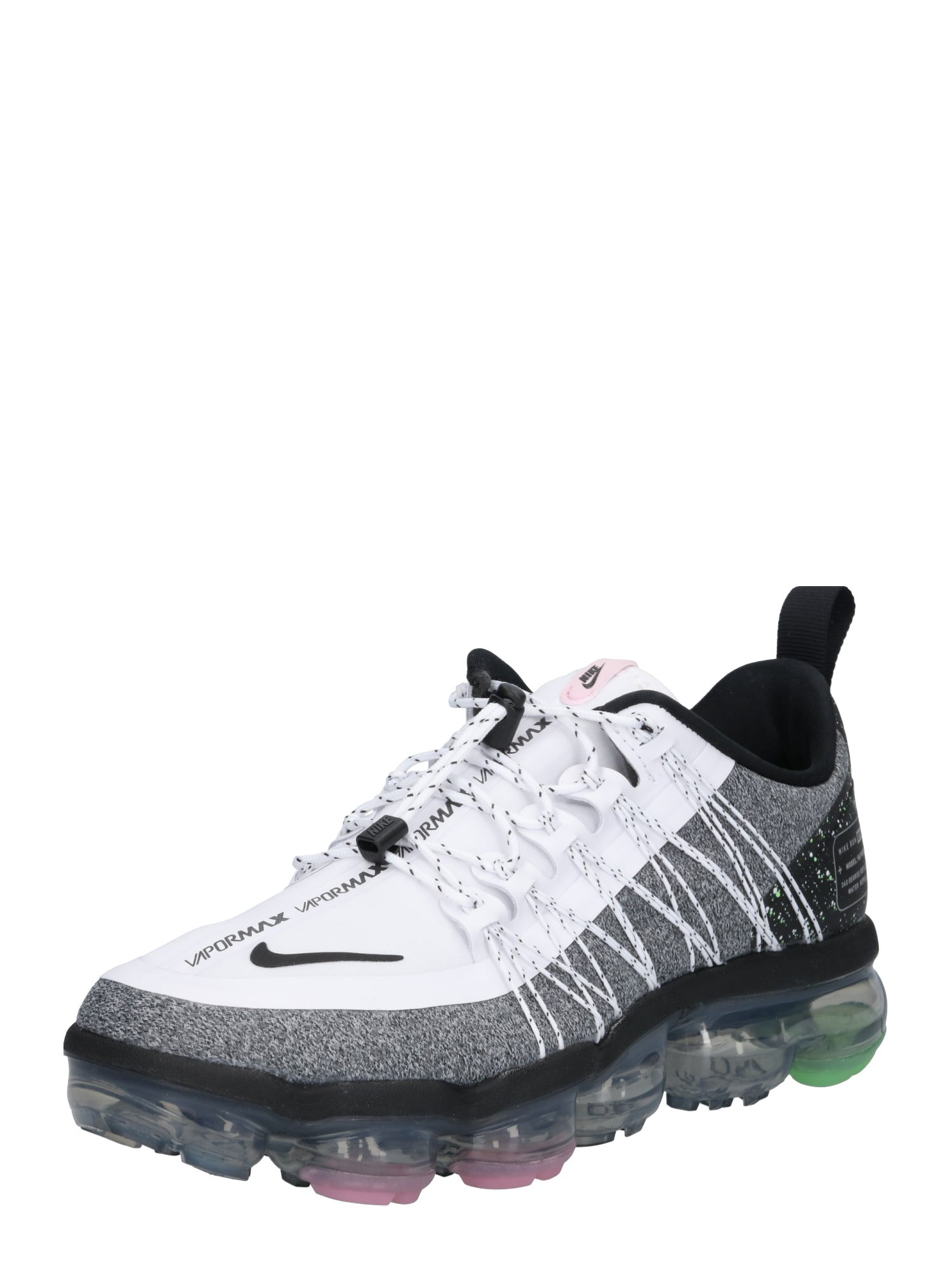 NIKE, Dames Loopschoen 'Air VaporMax Run Utility', grijs / wit