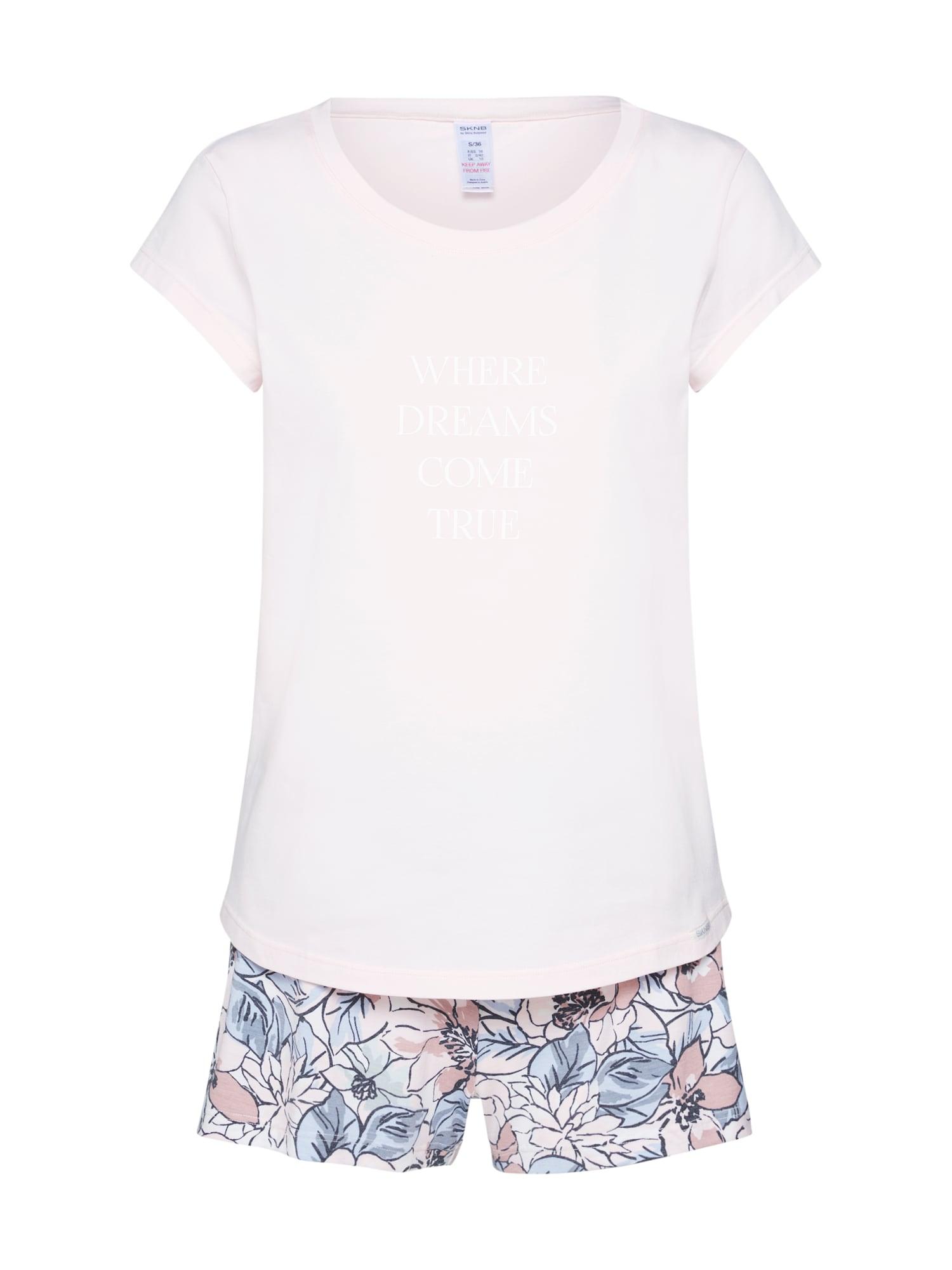 Pyžamo Nostalgic Summer Sleep mix barev růžová Skiny
