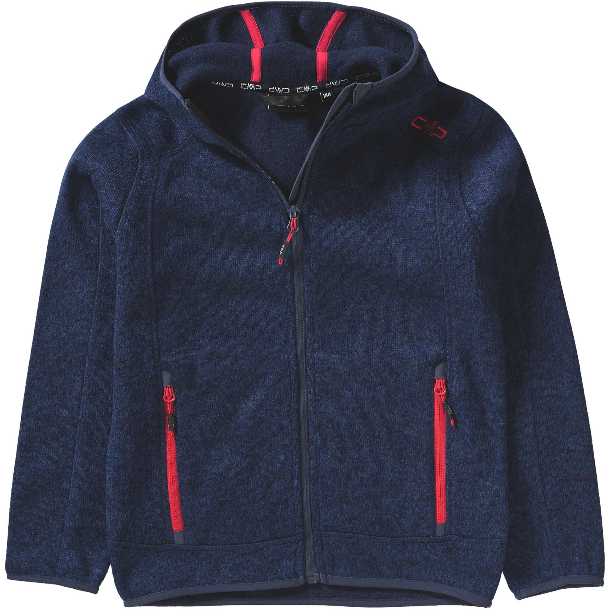 CMP Flisová bunda  červené / námornícka modrá