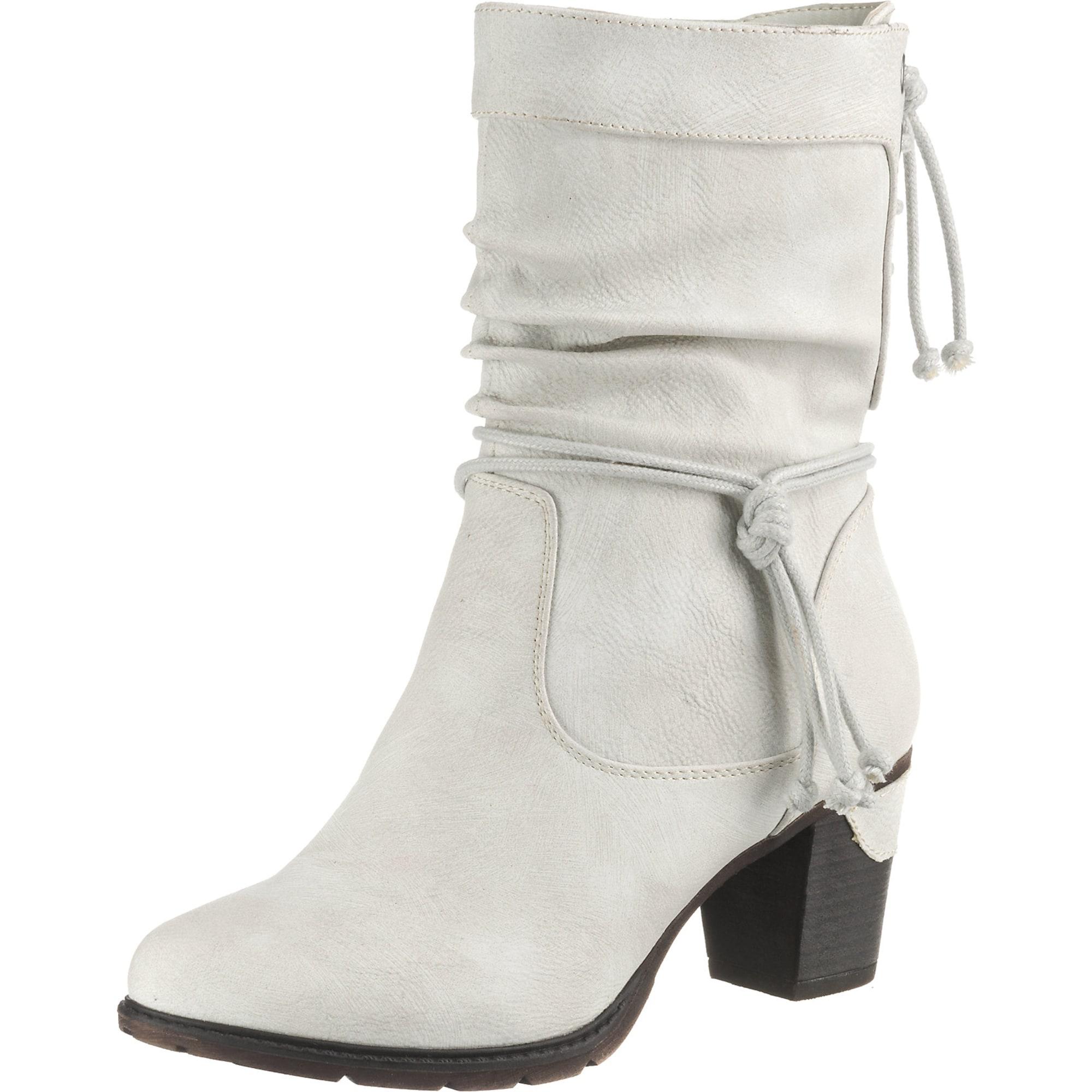 Winterstiefeletten   Schuhe > Stiefeletten > Winterstiefeletten   Schwarz - Weiß   RIEKER