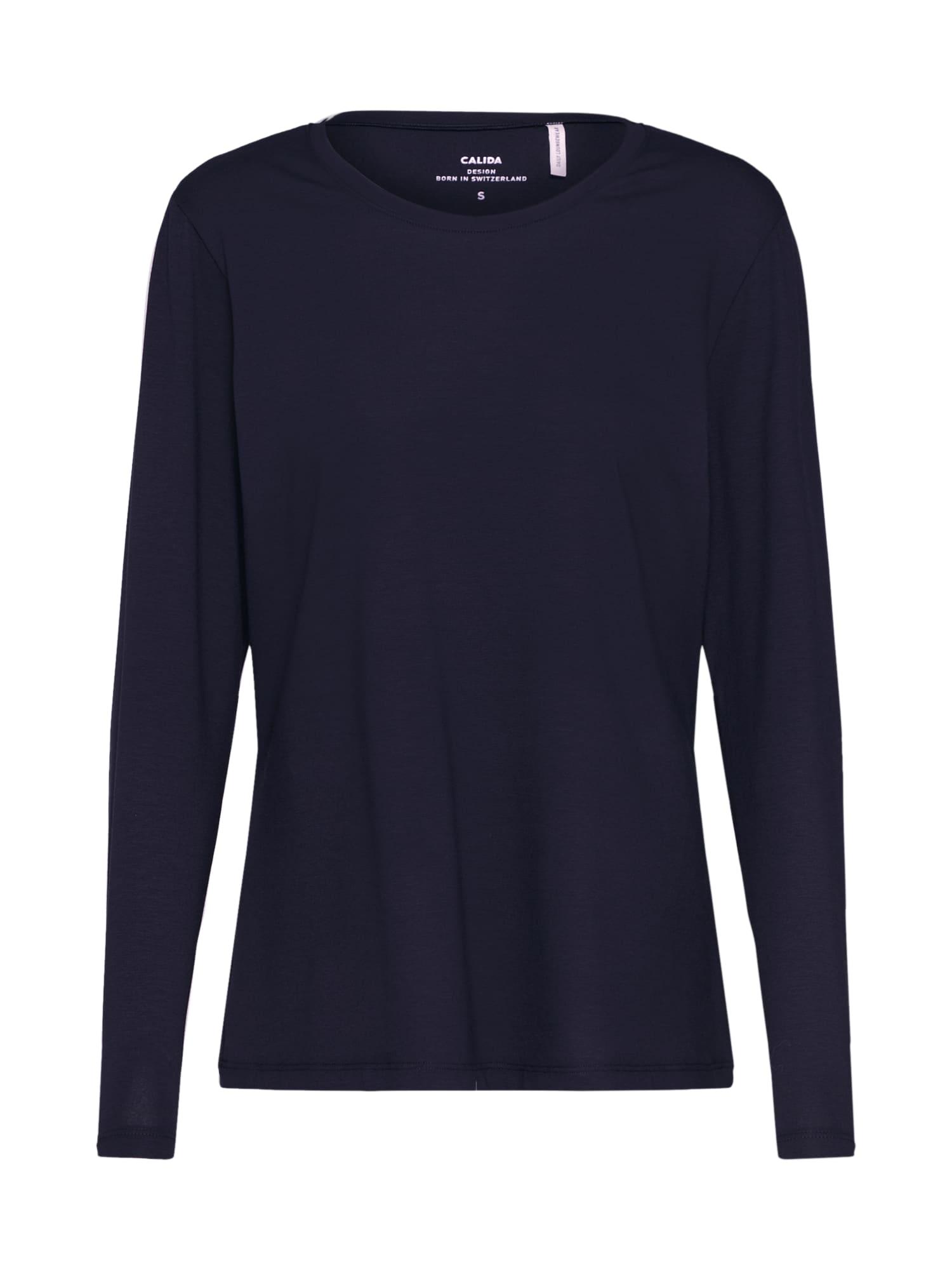Tričko na spaní Favourites Trend 1 tmavě modrá CALIDA