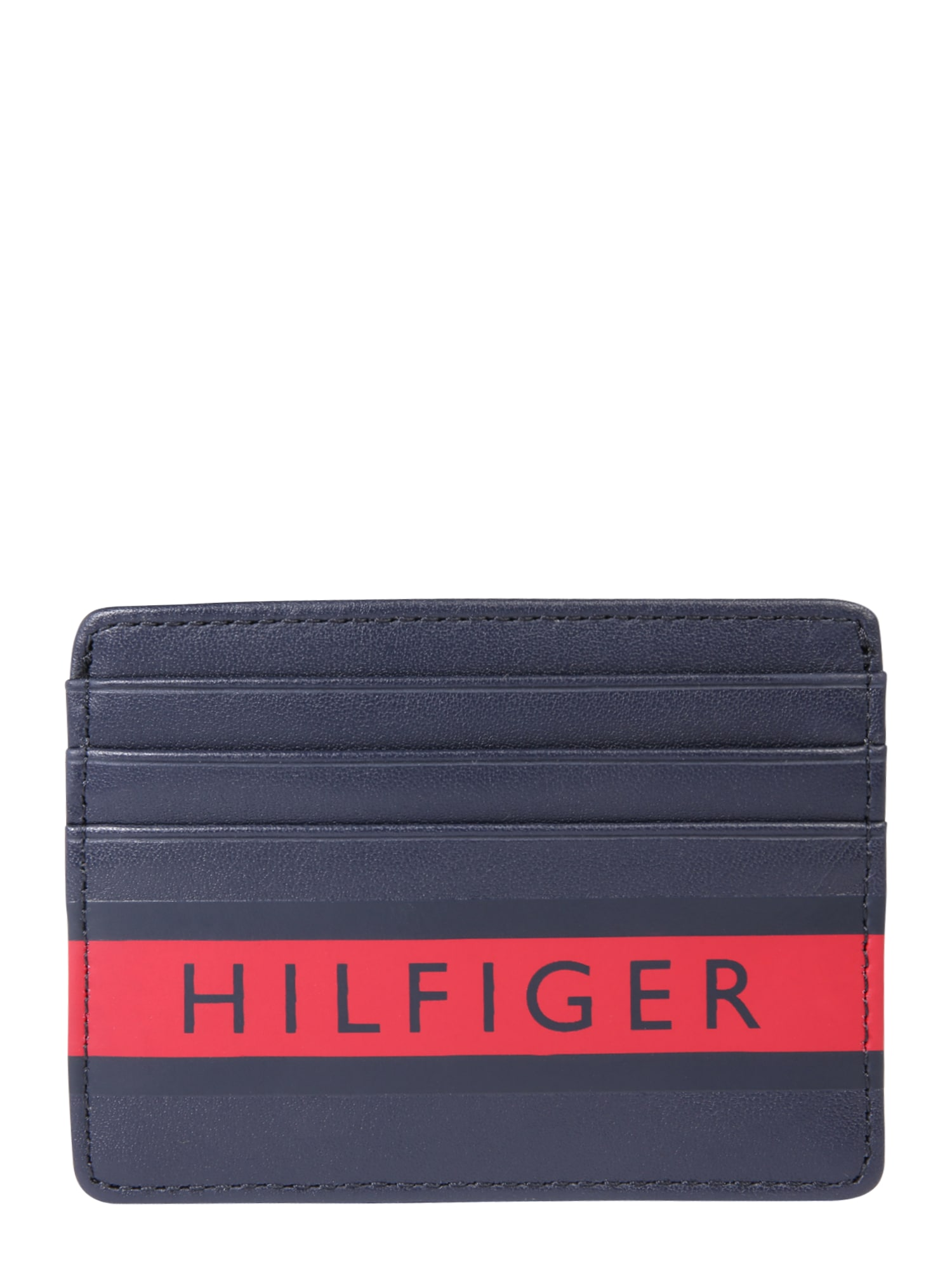Peněženka Color Mix CC Holder modrá červená TOMMY HILFIGER