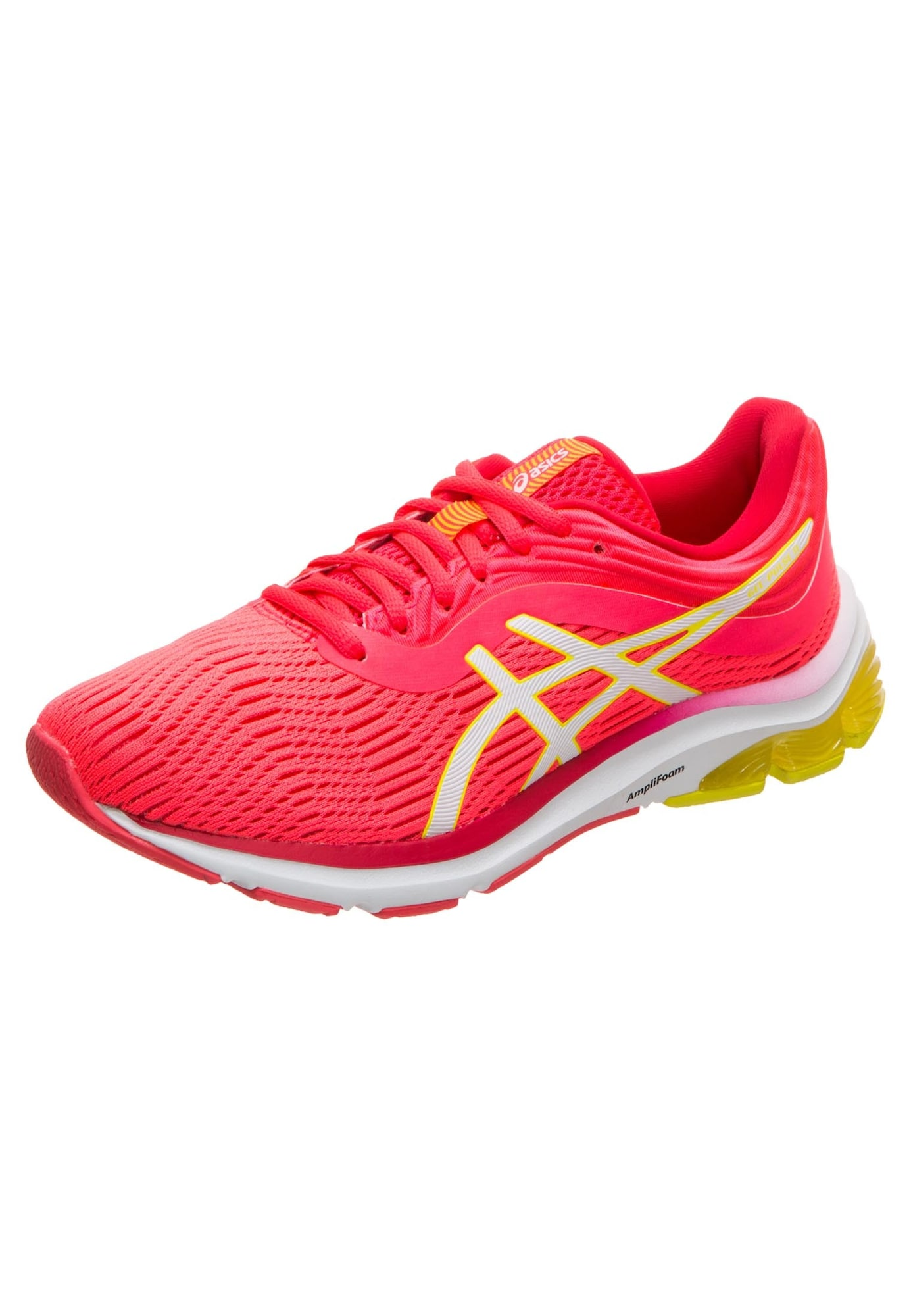 ASICS Běžecká obuv  žlutá / svítivě růžová / bílá