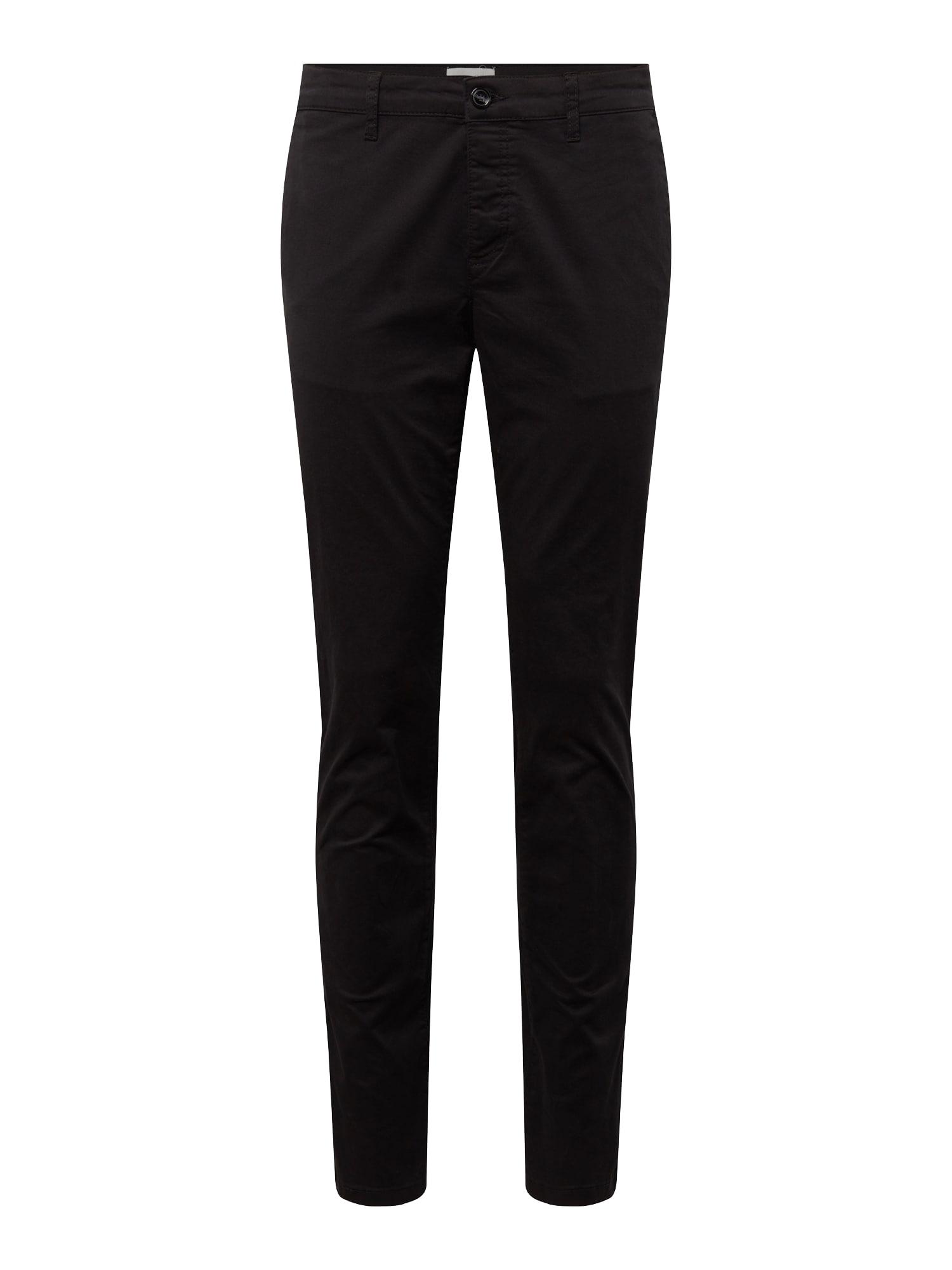 Chino kalhoty černá Pier One