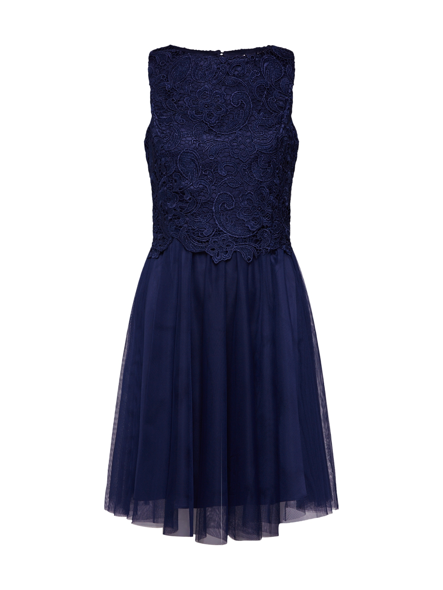 Koktejlové šaty Heavy Lace Sequin Prom Dress námořnická modř Dorothy Perkins Occasion