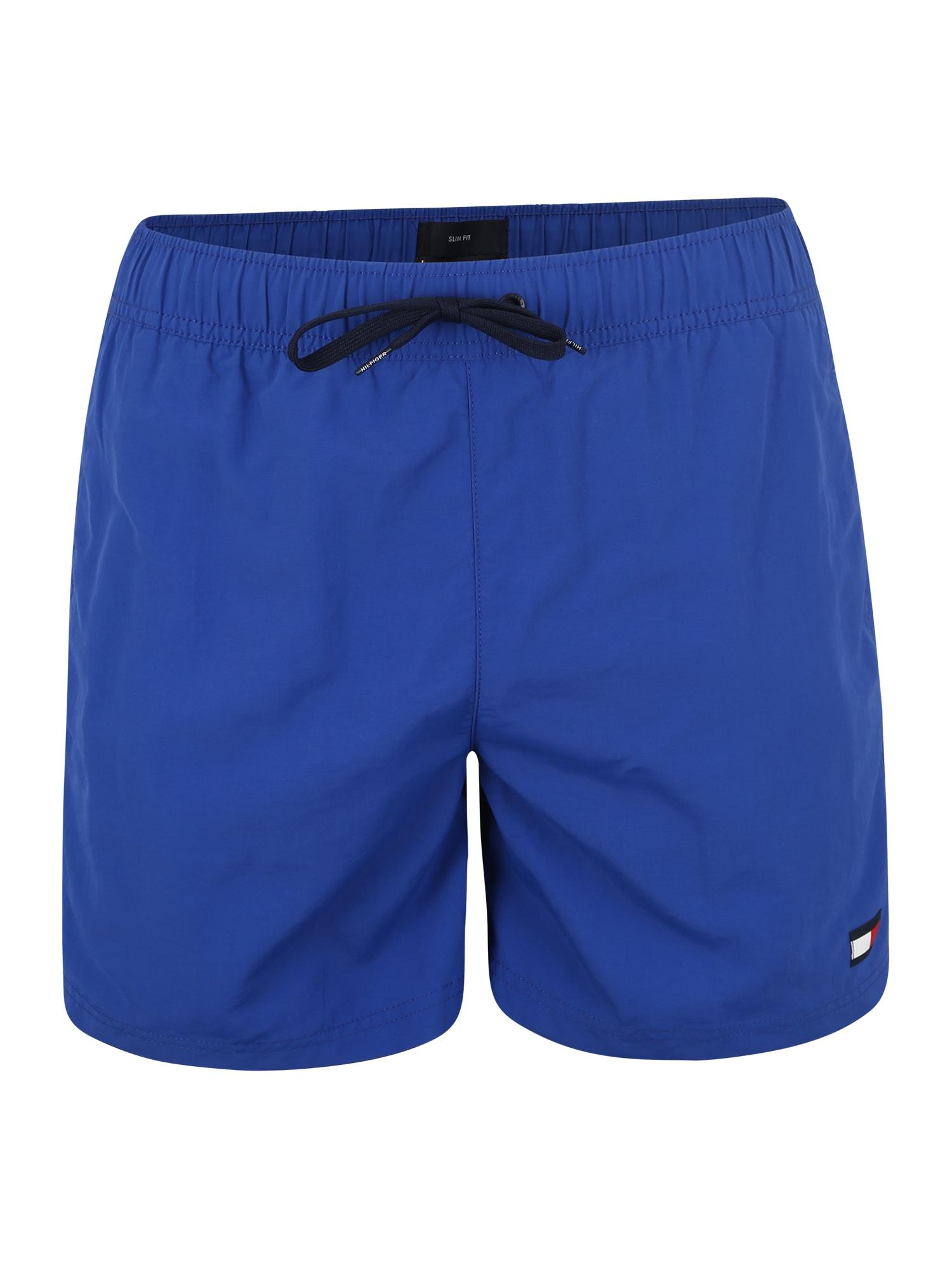 Plavecké šortky SF MEDIUM DRAWSTRING modrá Tommy Hilfiger Underwear