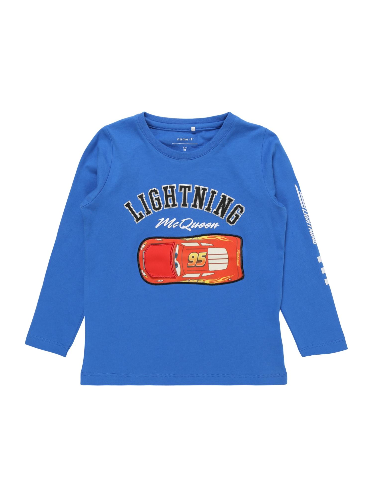 Tričko Disney Cars modrá červená NAME IT