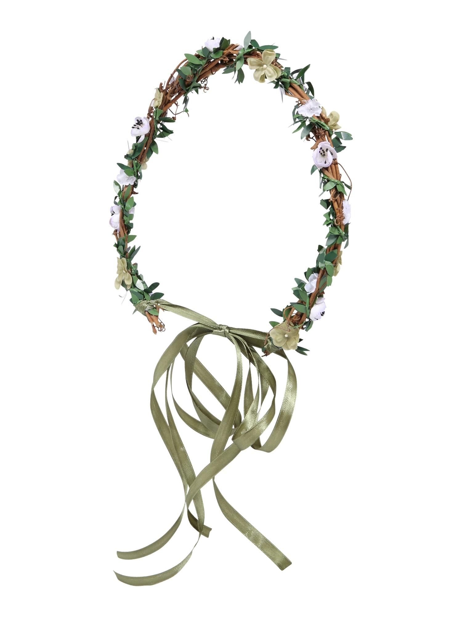 Šperky do vlasů BridalBridesmaid Style zelená růžová We Are Flowergirls