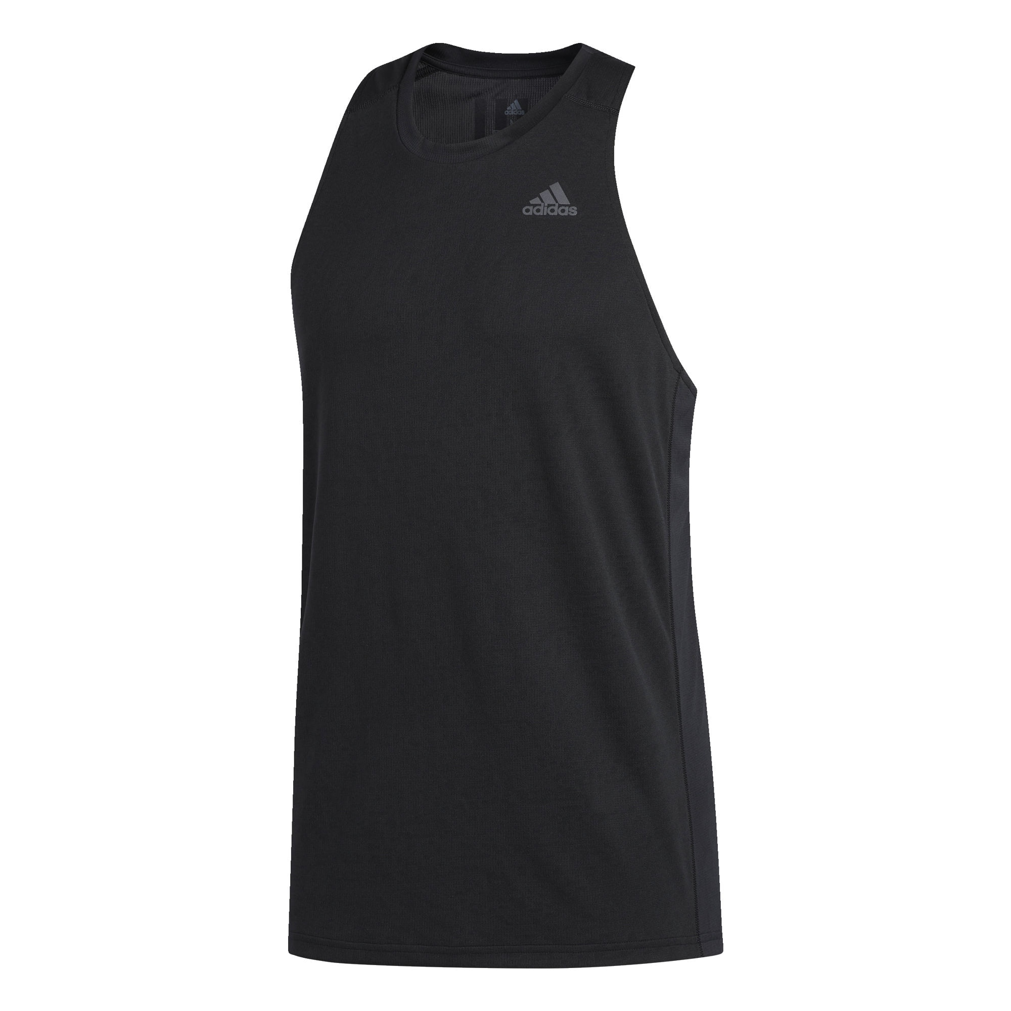 Funkční tričko Own The Run černá ADIDAS PERFORMANCE