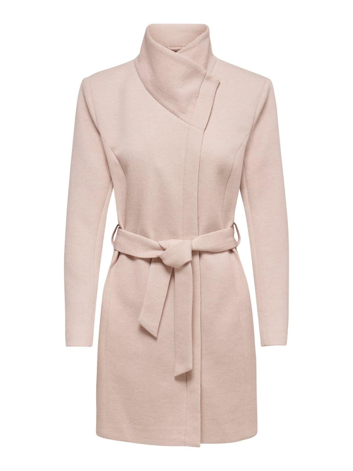 Přechodný kabát Elli růžová ONLY