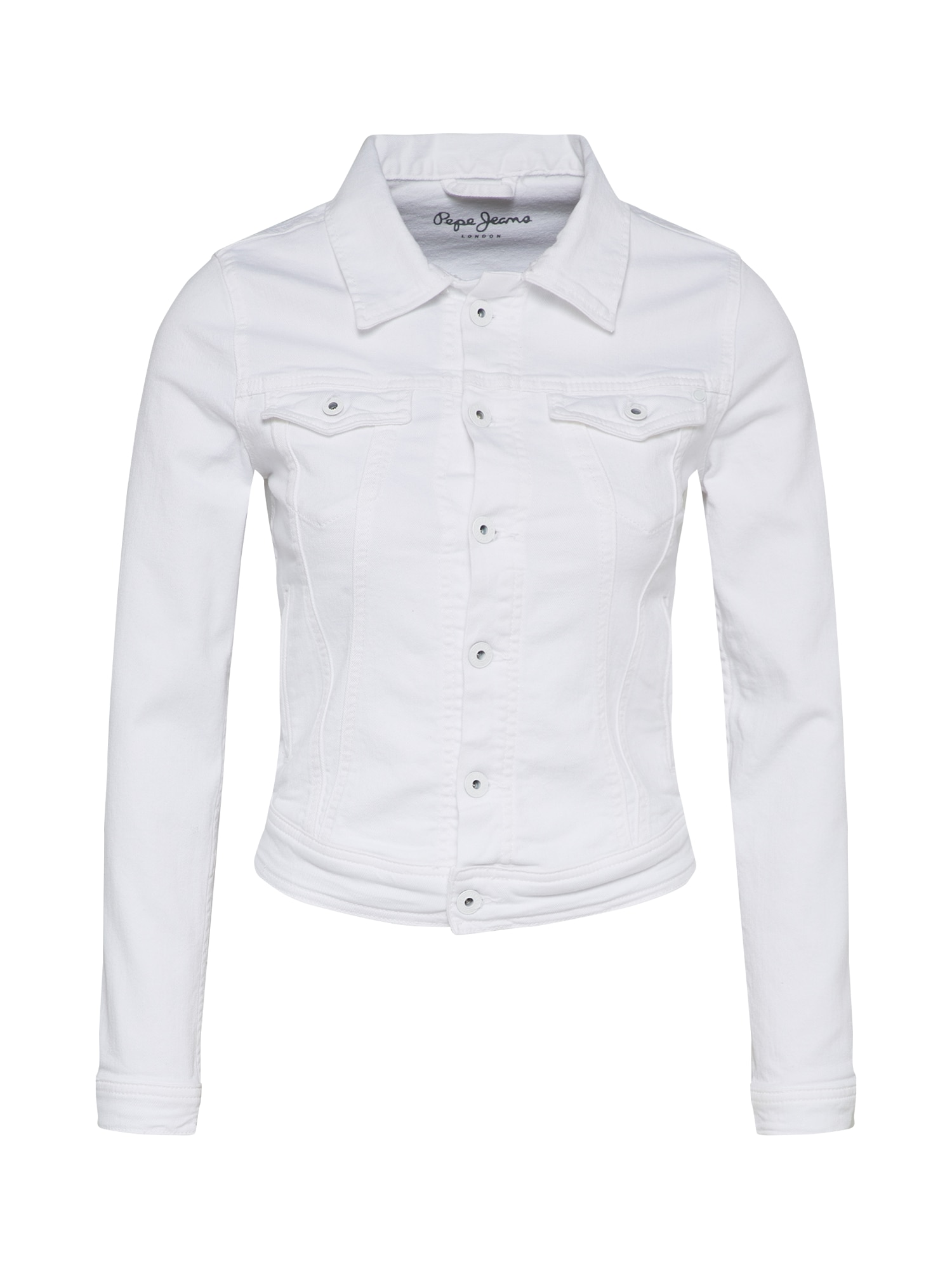 Pepe Jeans, Dames Tussenjas 'Core', wit