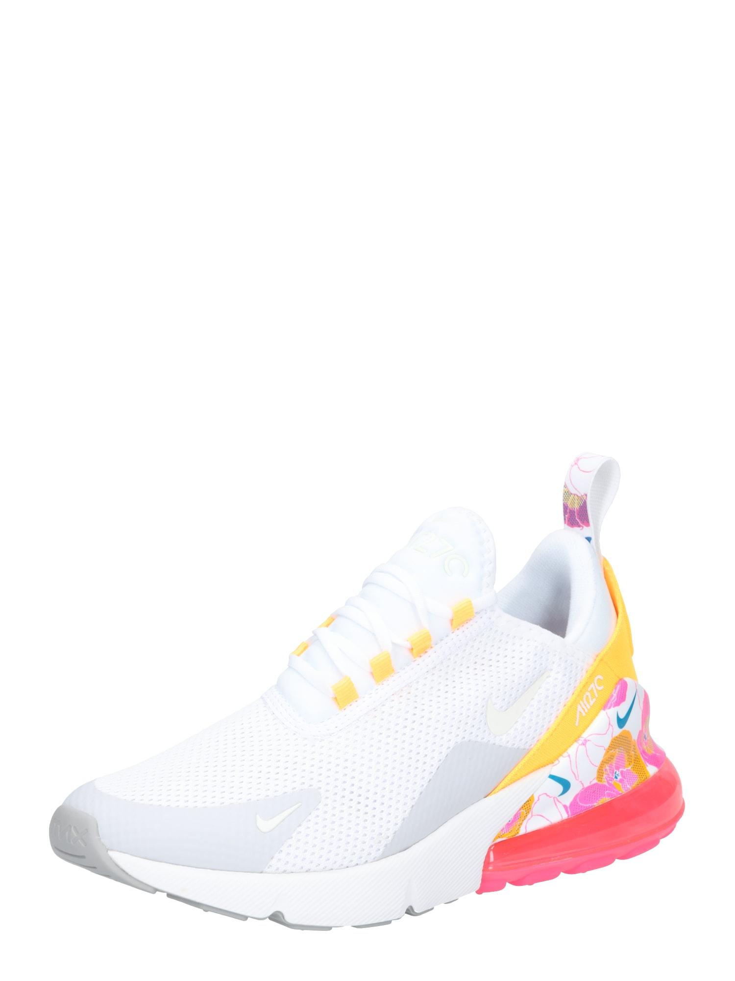Tenisky Nike Air Max 270 SE stříbrně šedá pink bílá Nike Sportswear