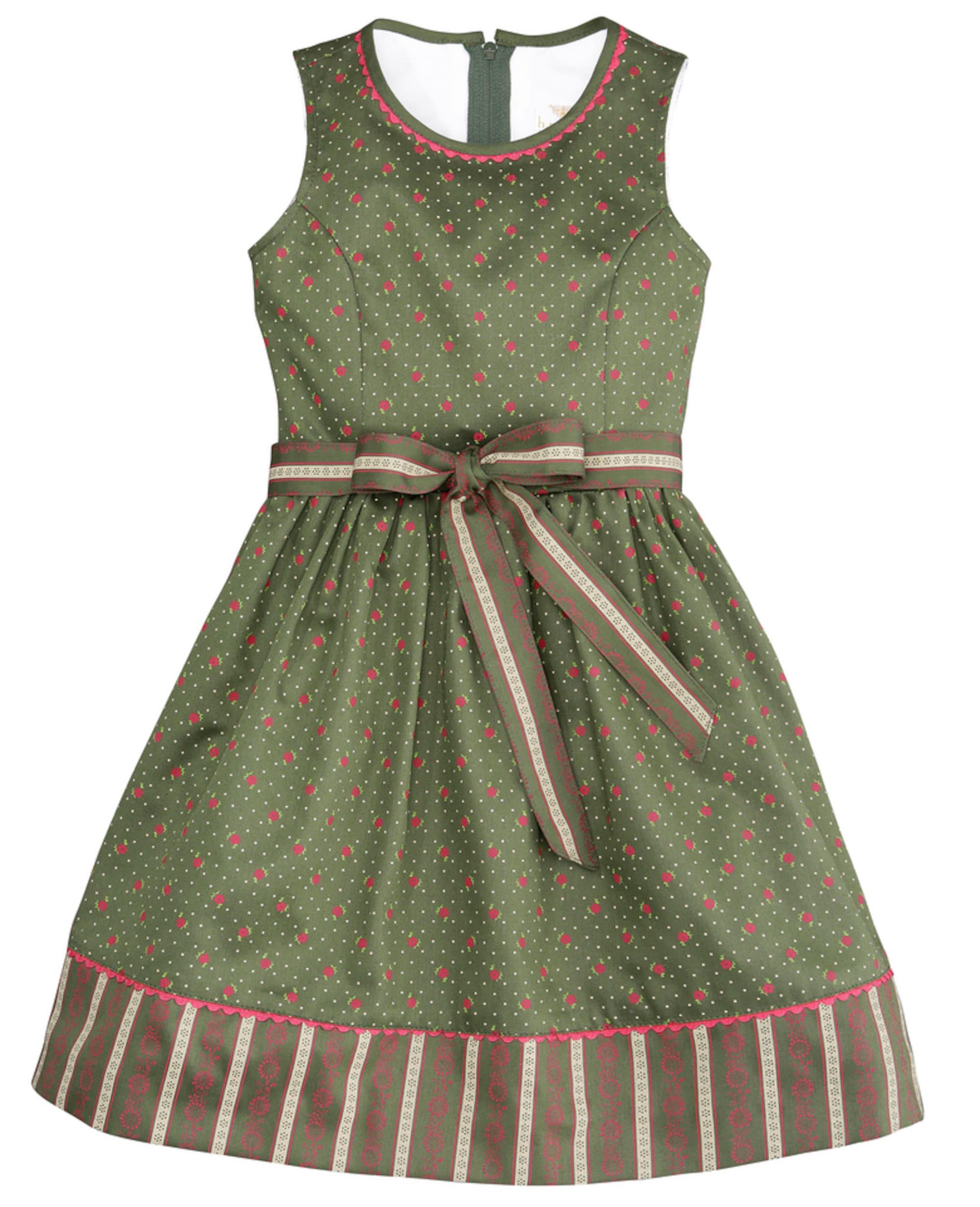 Kinder Trachtenkleid mit Blümchendruck