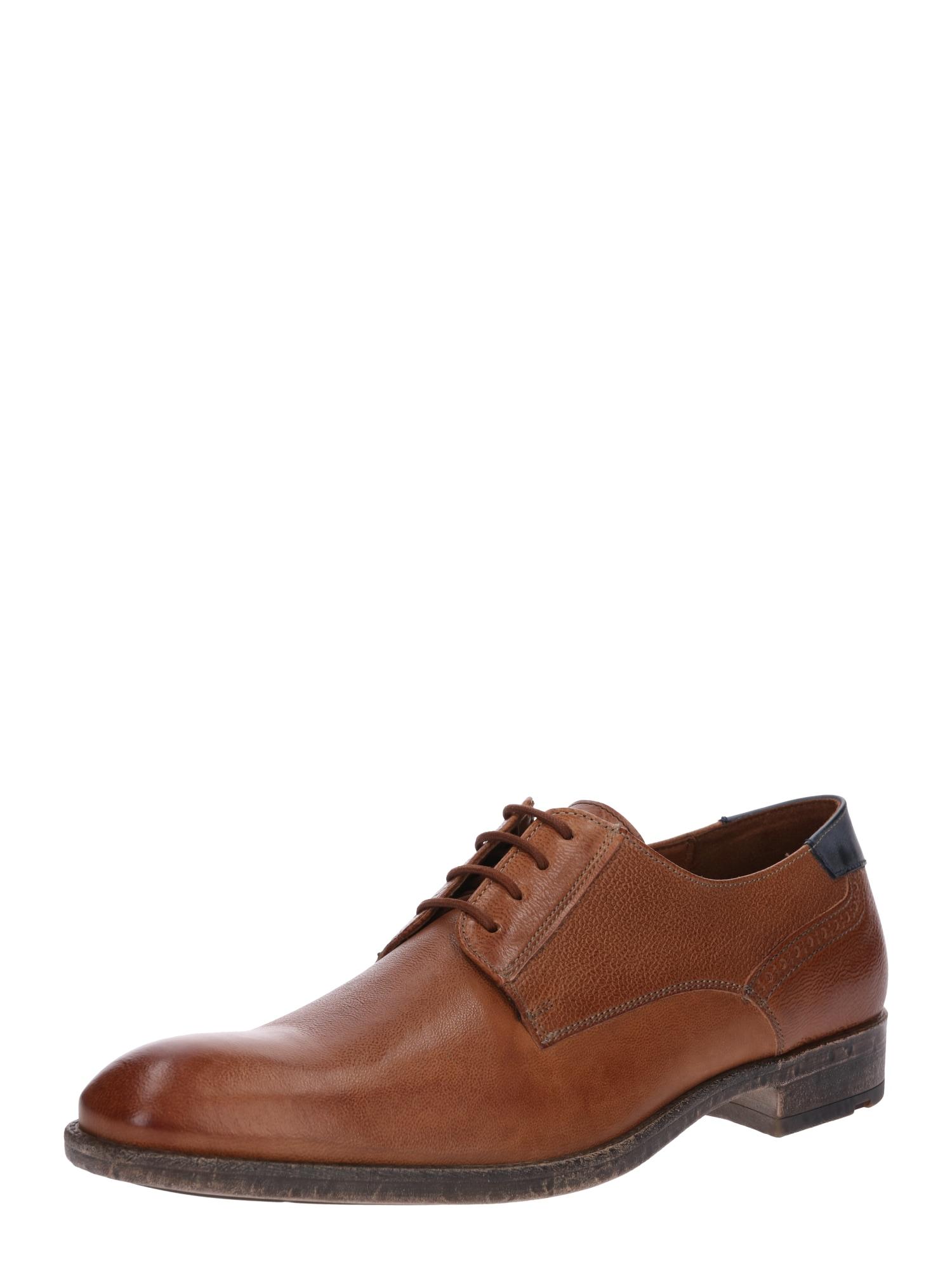 Šněrovací boty DALVA koňaková LLOYD