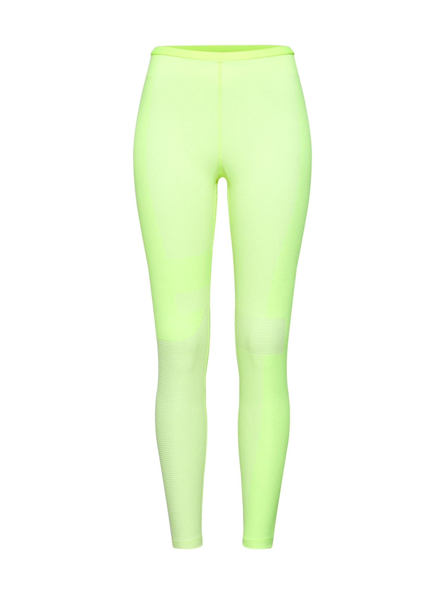 Sportovní kalhoty Nike Run Tech Pack Knit svítivě žlutá NIKE