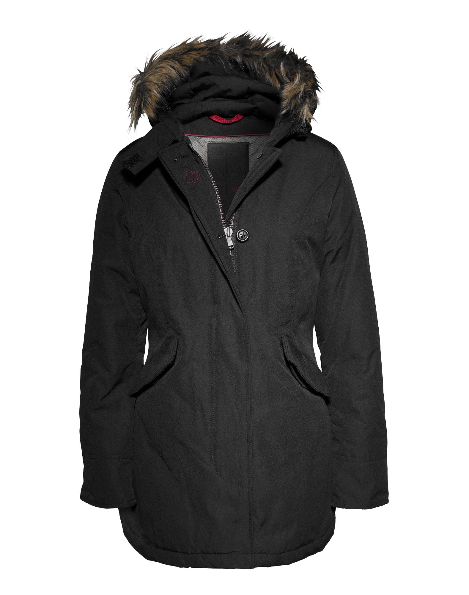 Zimní parka Fundy Bay černá Canadian Classics