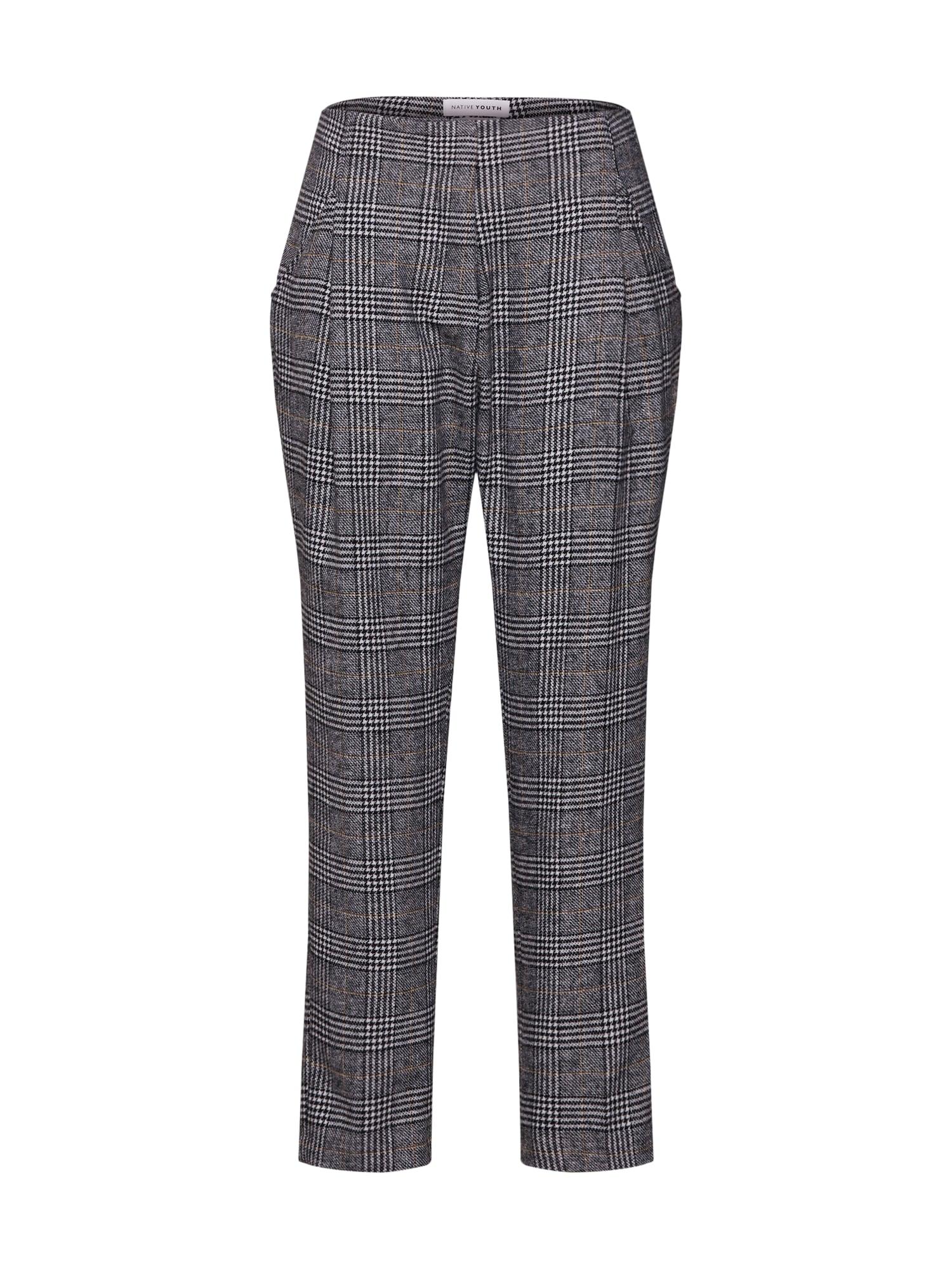 Kalhoty ALBION PANT šedá Native Youth