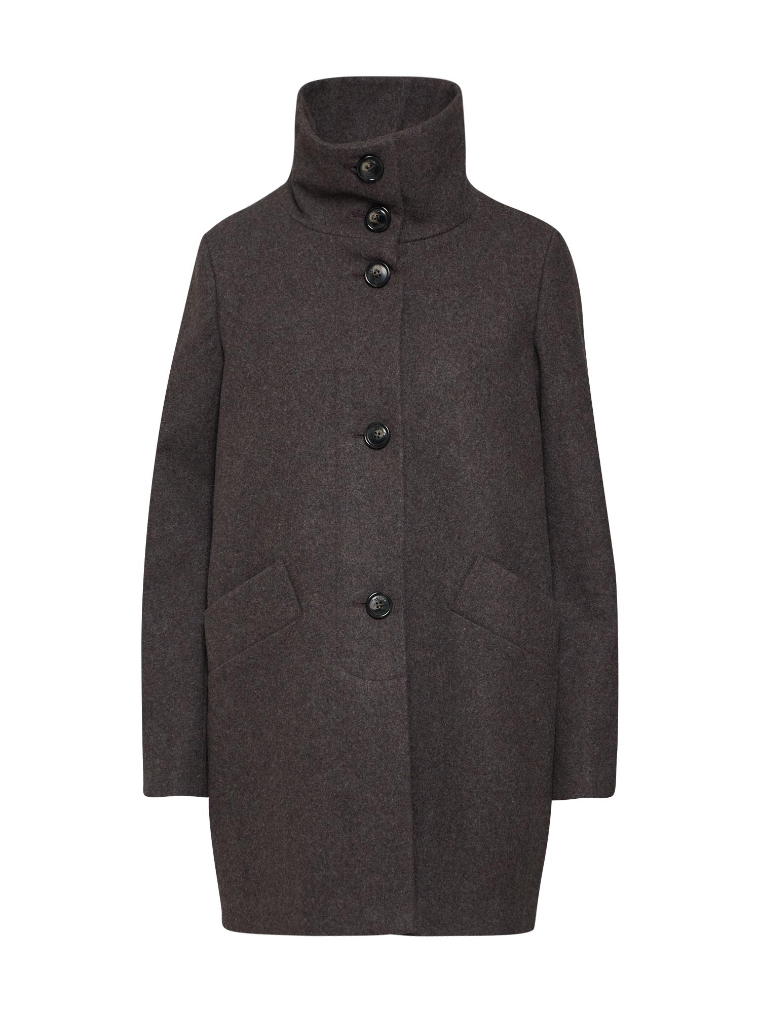 Přechodný kabát čedičová šedá Sessun