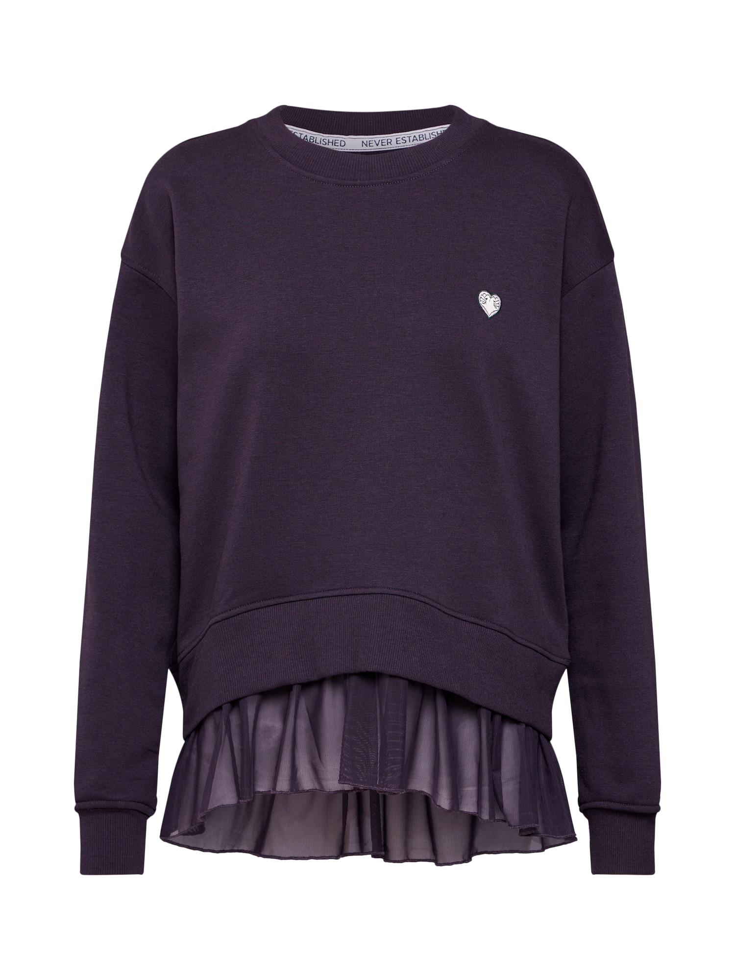 Review, Dames Sweatshirt, antraciet