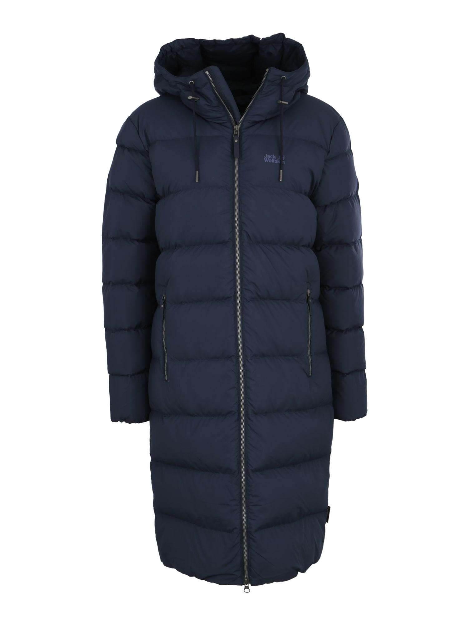 Outdoorový kabát CRYSTAL PALACE tmavě modrá JACK WOLFSKIN