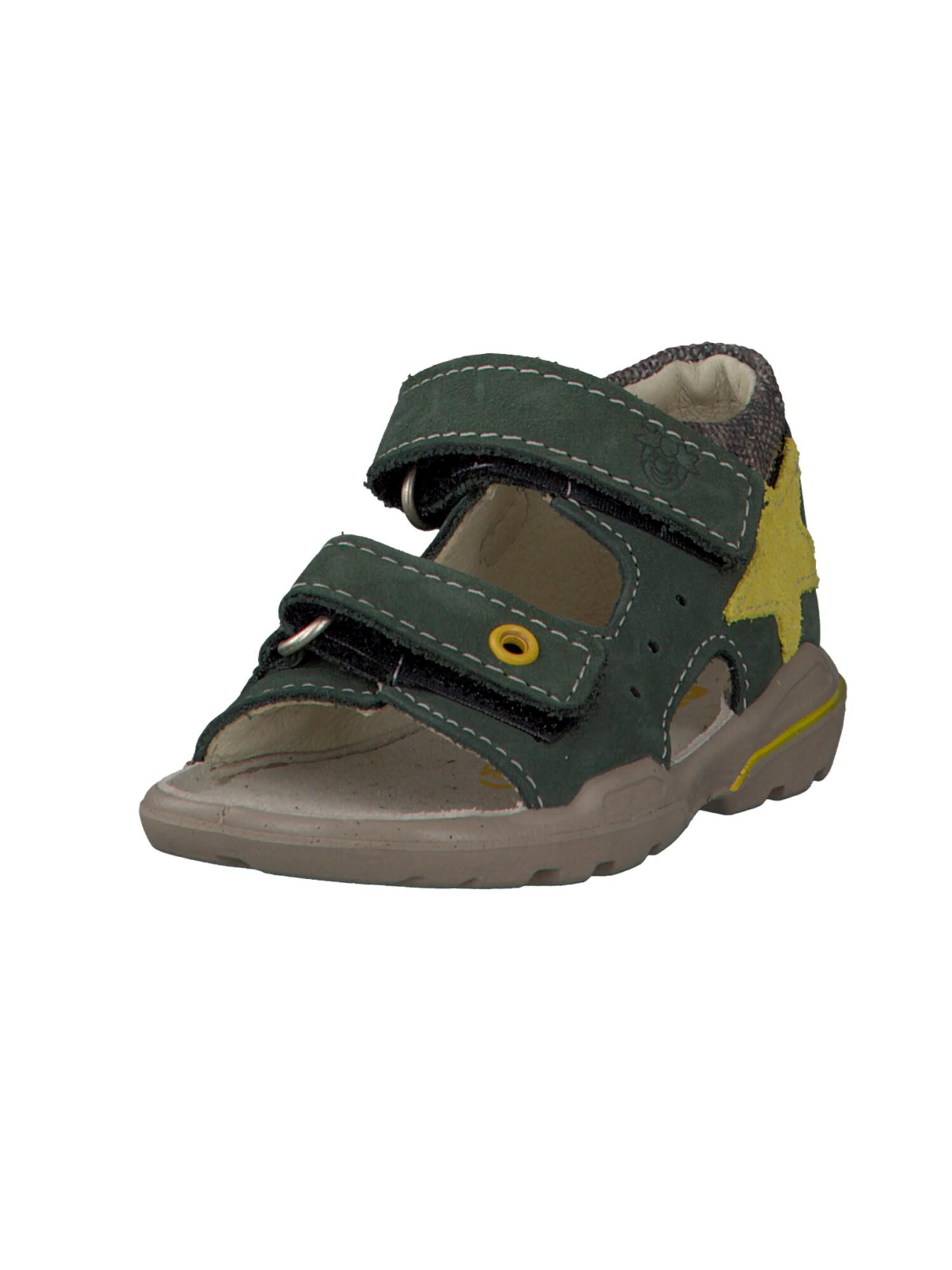 Otevřená obuv JOEY žlutá olivová Pepino