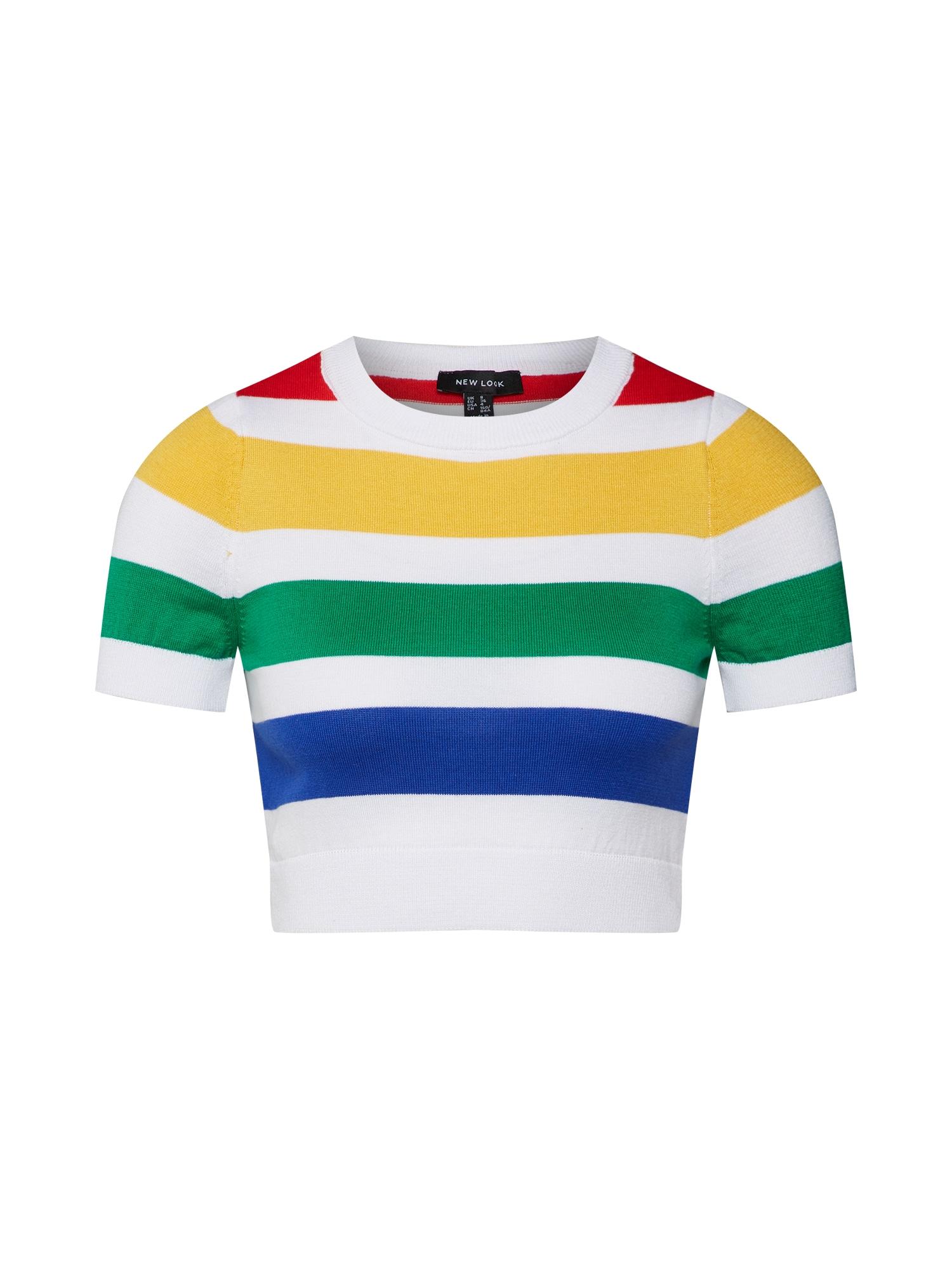 Tričko mix barev bílá NEW LOOK