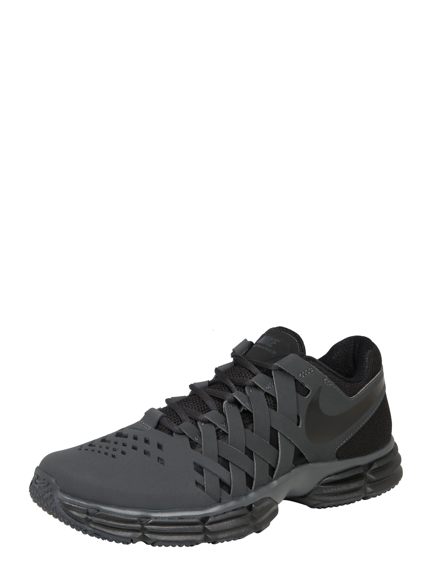 Sportovní boty Lunar Fingertrap Training černá NIKE