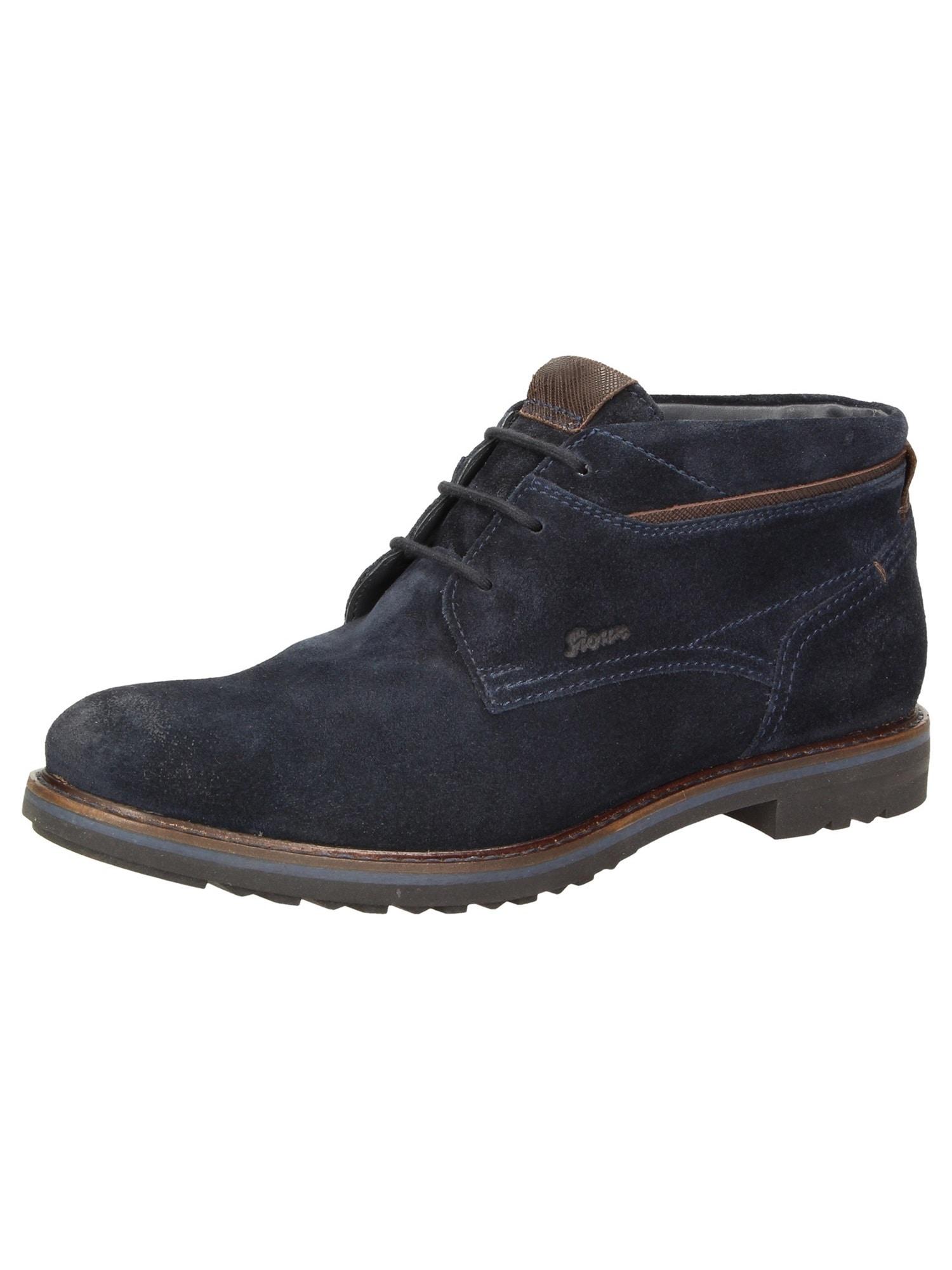 Stiefelette 'Encanio'   Schuhe > Boots   Dunkelblau - Braun   SIOUX