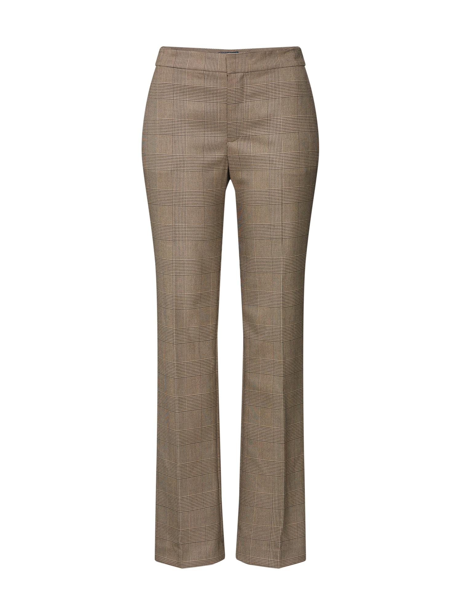 Kalhoty s puky velbloudí světle hnědá Lauren Ralph Lauren