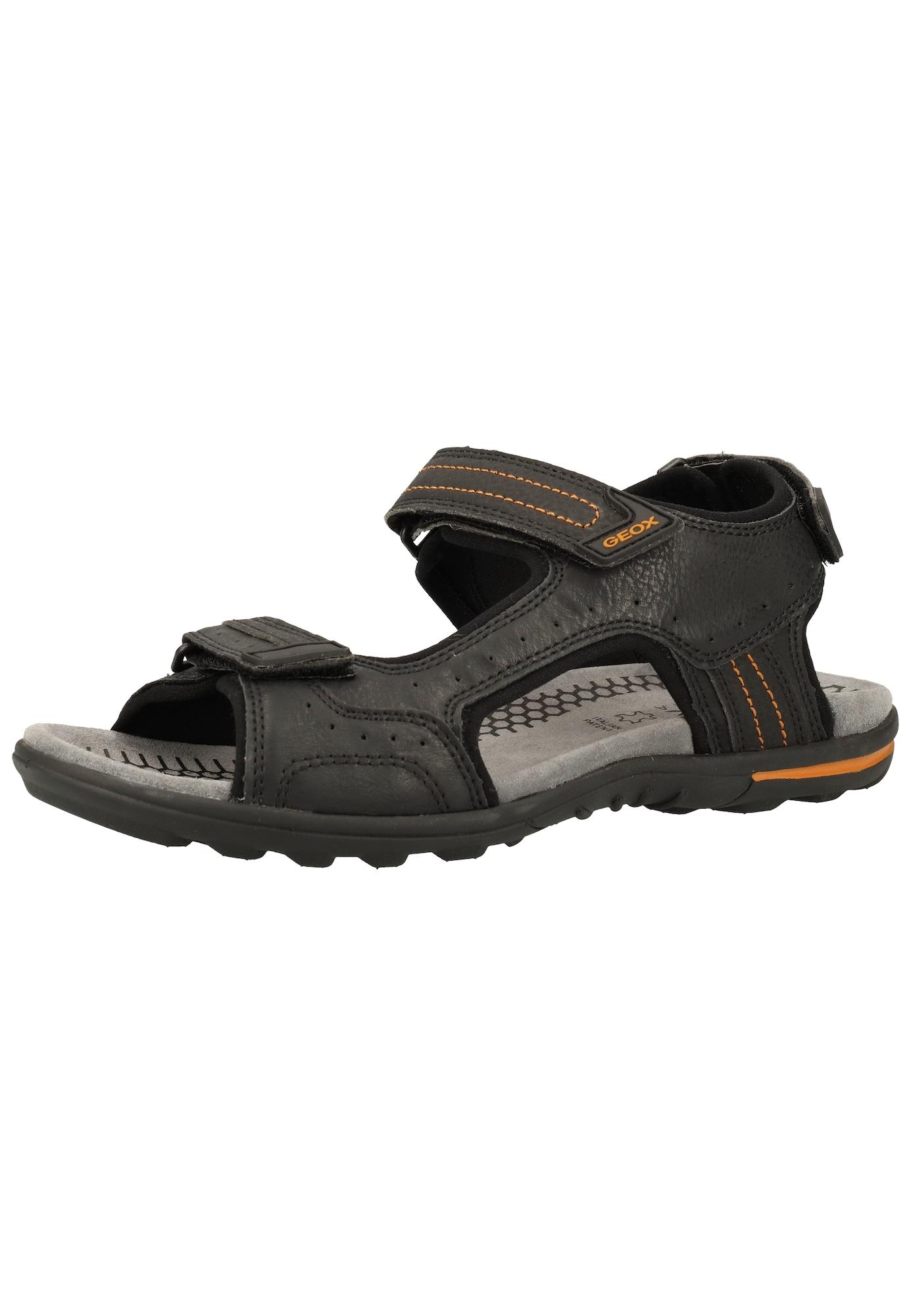 GEOX Sandály  černá