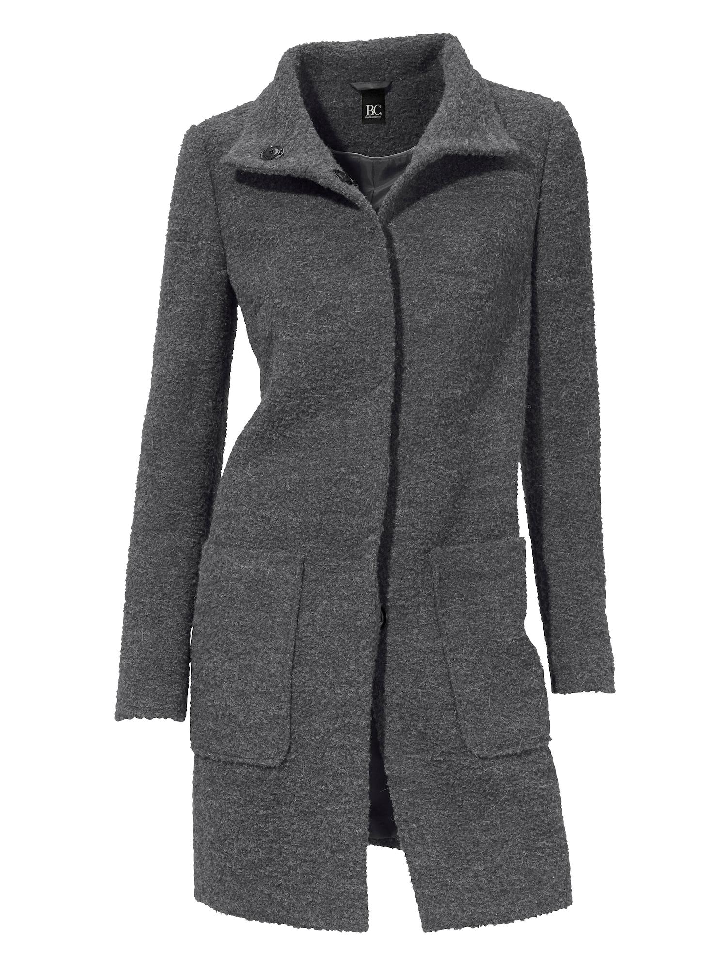 Přechodný kabát antracitová Heine