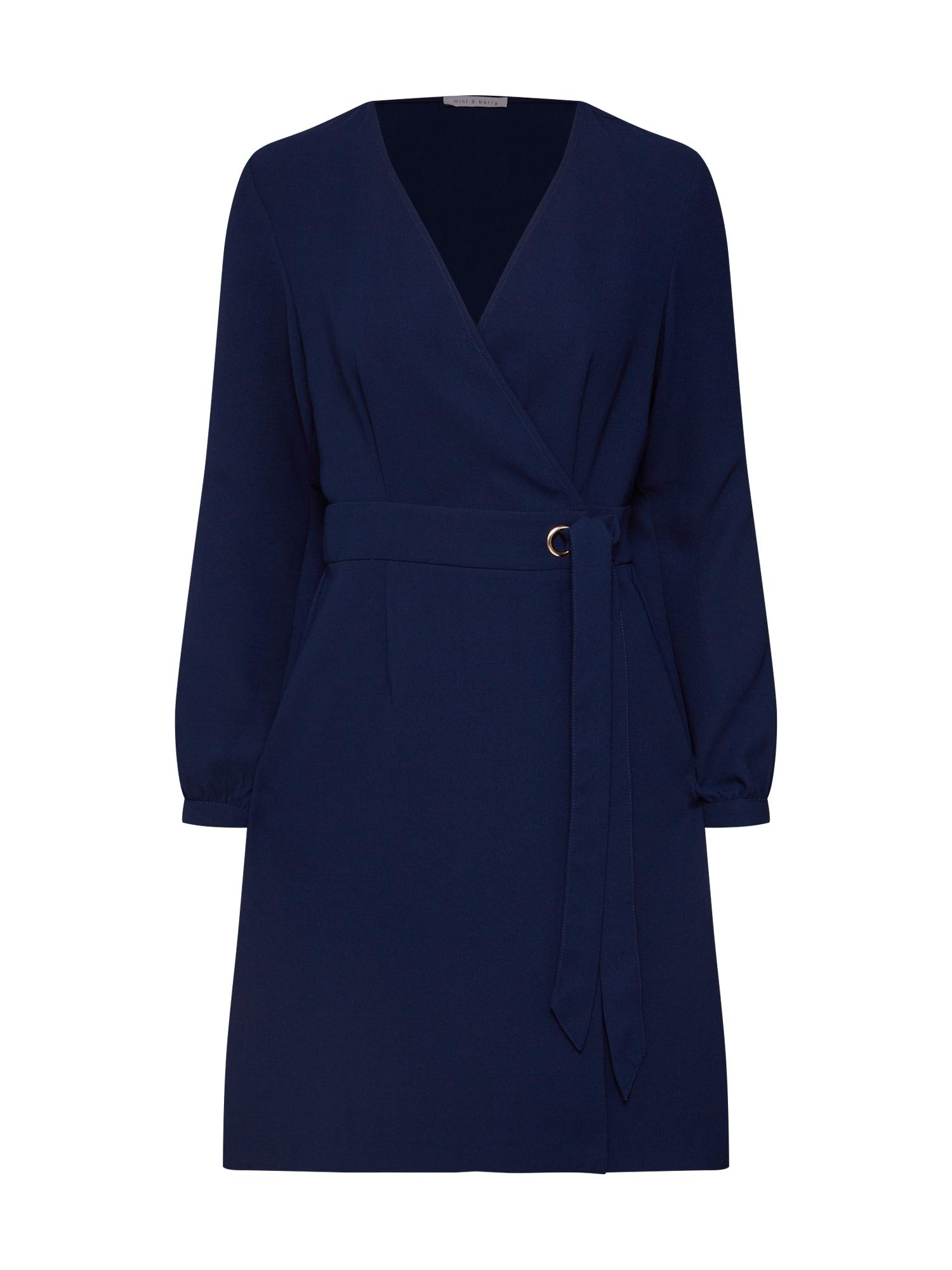 Košilové šaty námořnická modř Mint&berry