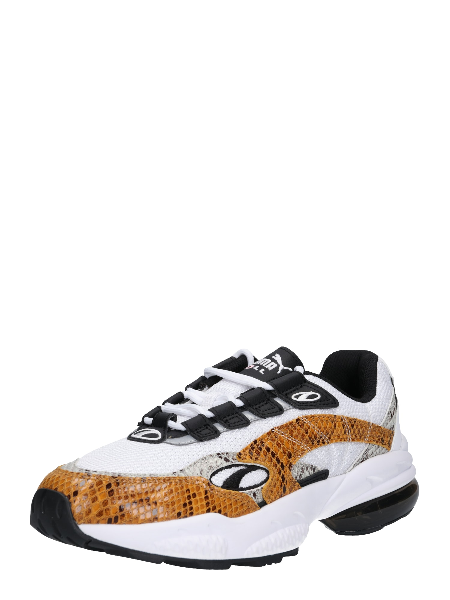 PUMA, Heren Sneakers laag 'Cell Venom Animal', bruin / wit