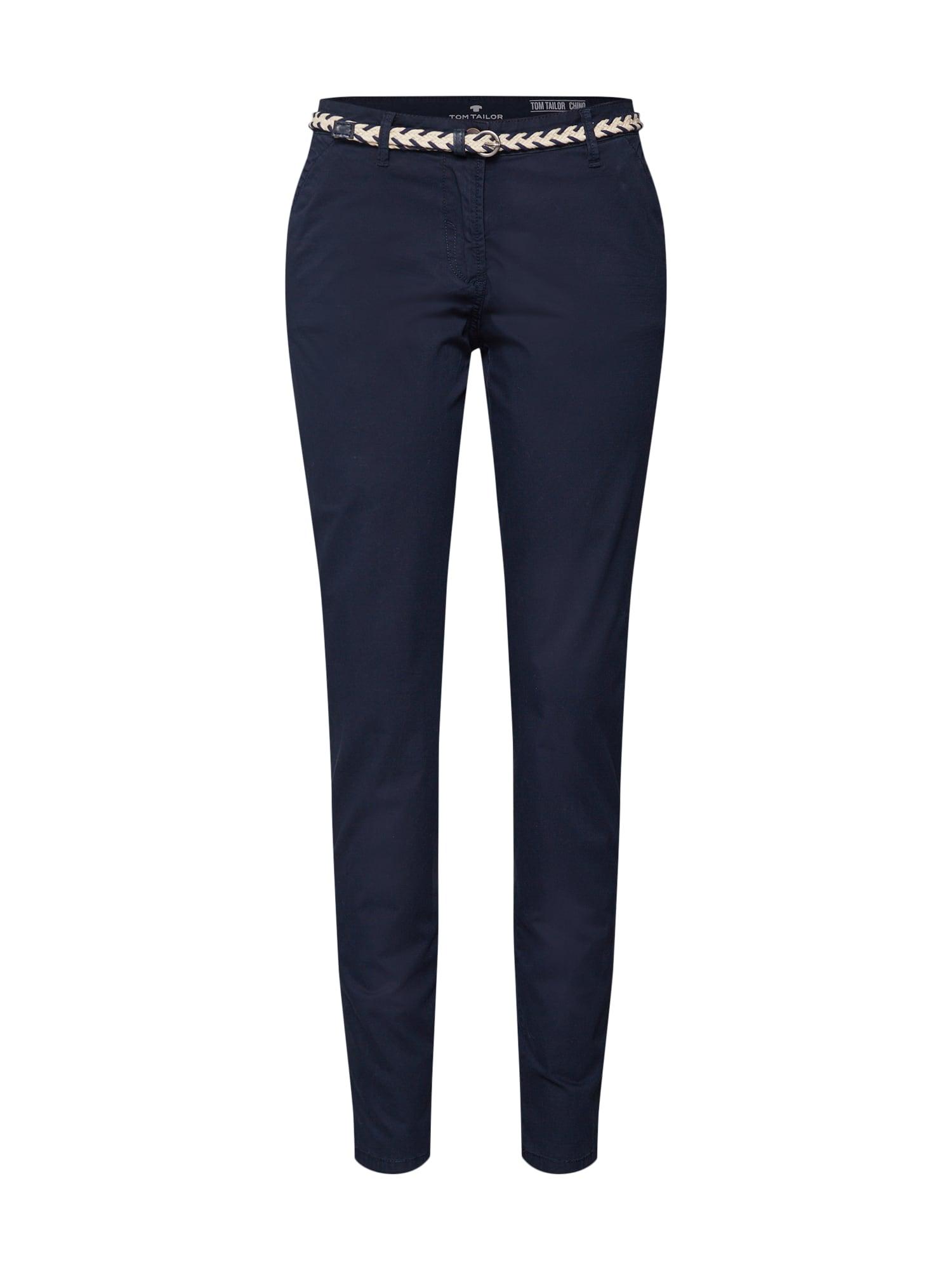 Chino kalhoty námořnická modř TOM TAILOR