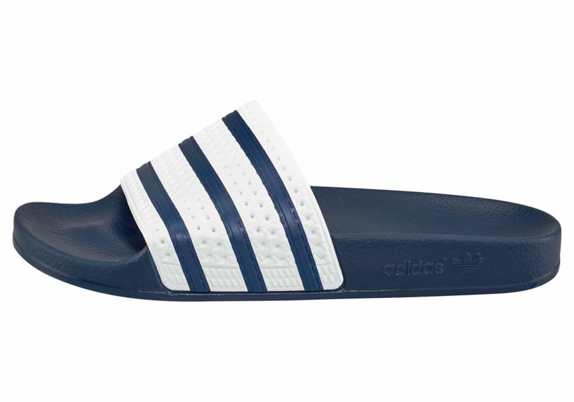 Pantofle Adilette bílá ADIDAS ORIGINALS