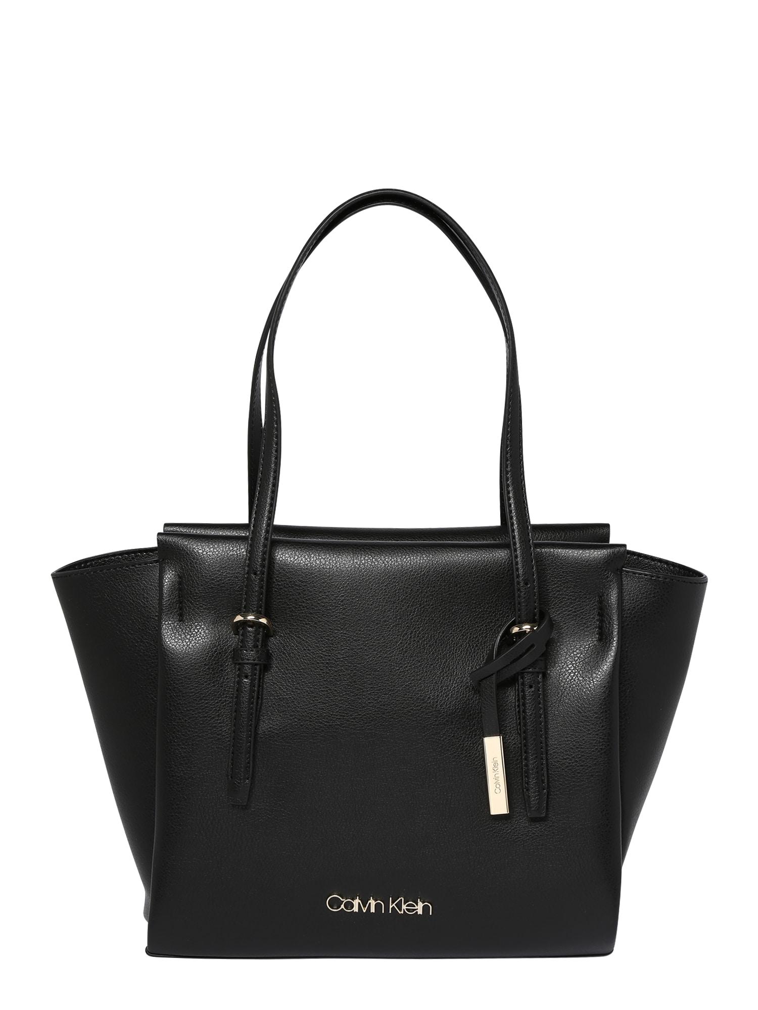 Nákupní taška Avant černá Calvin Klein