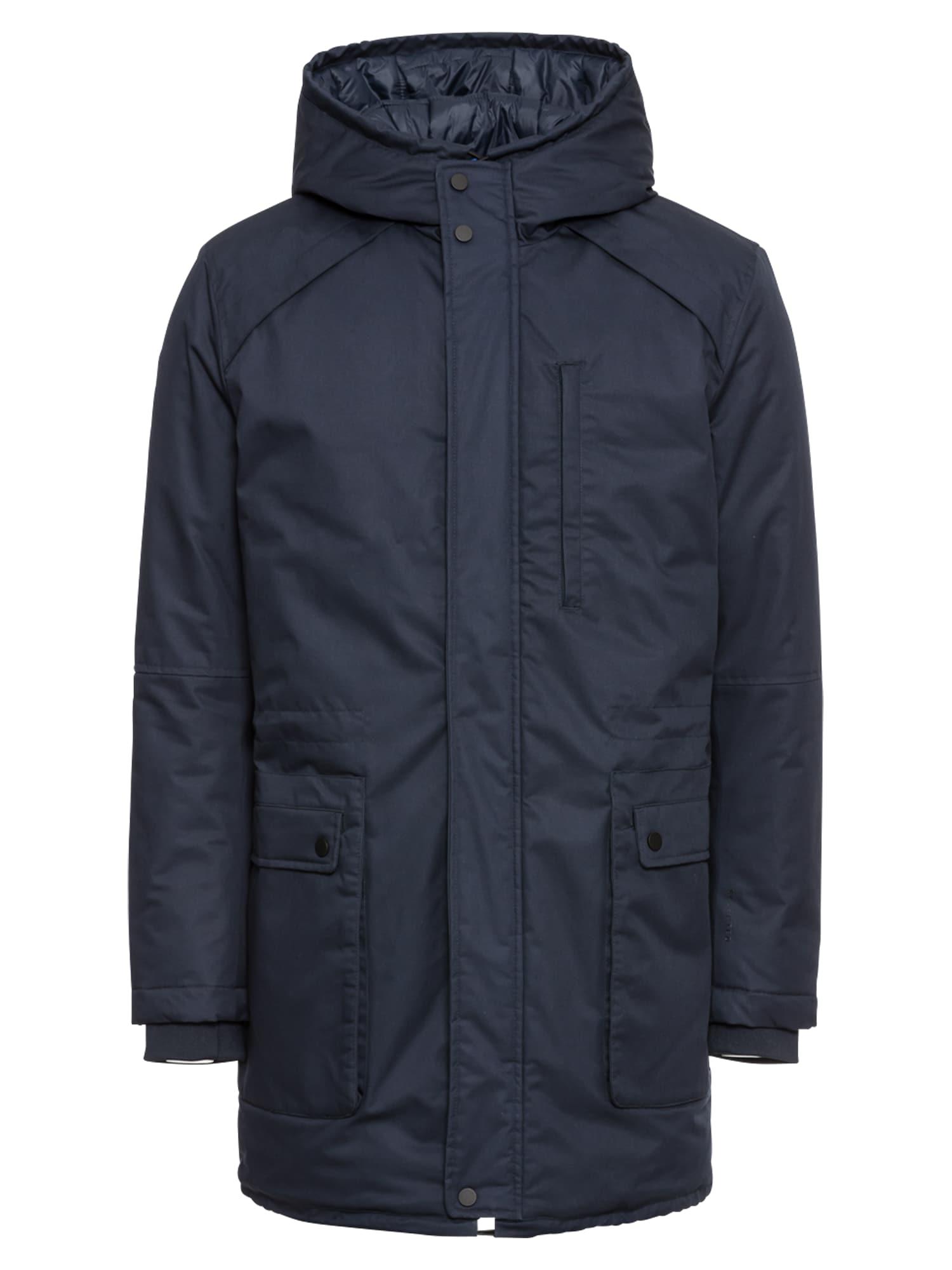 Zimní bunda SLHVINYL JACKET B námořnická modř SELECTED HOMME