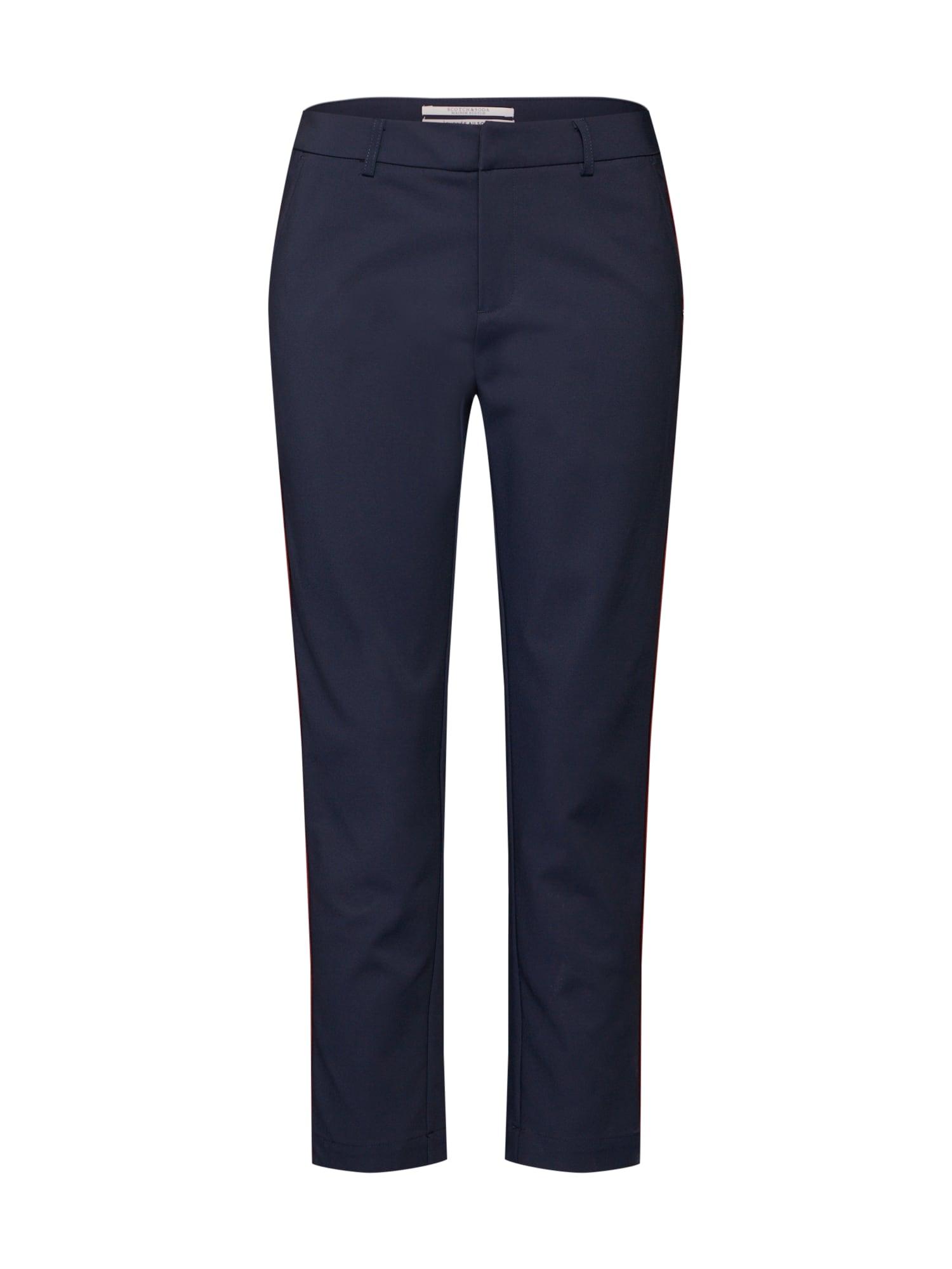 Kalhoty námořnická modř bílá SCOTCH & SODA