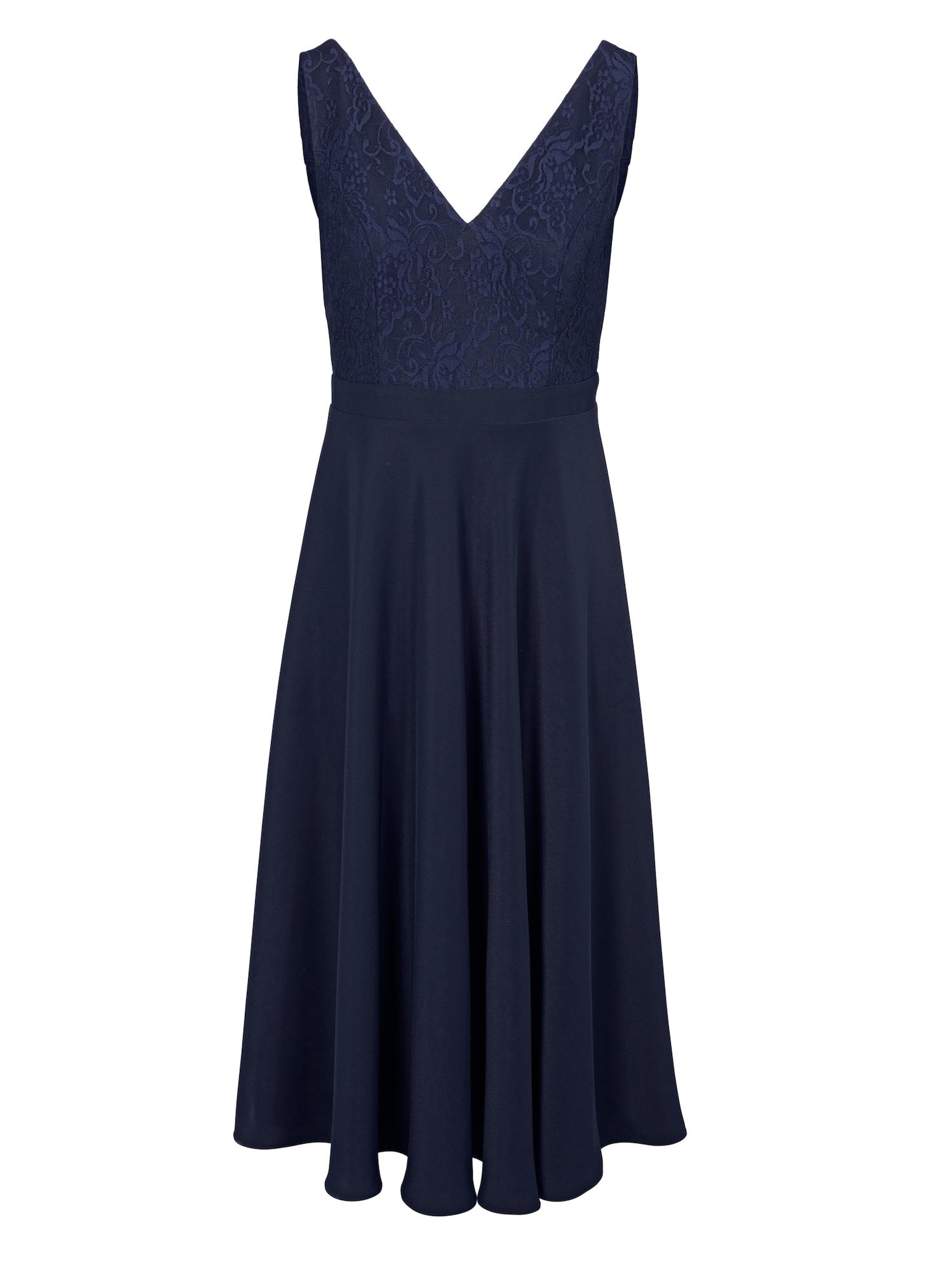 Společenské šaty noční modrá Heine