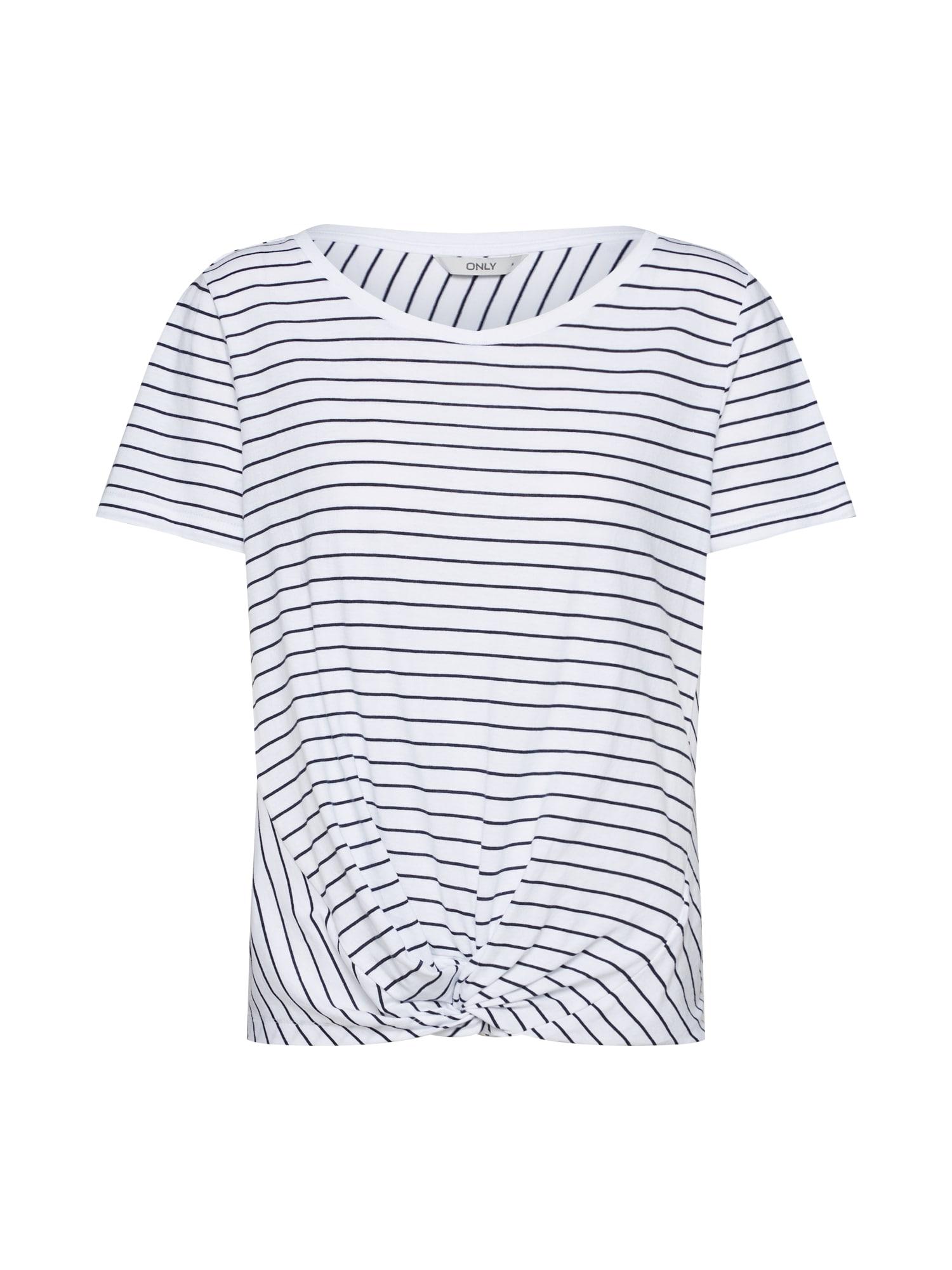 Tričko černá bílá ONLY