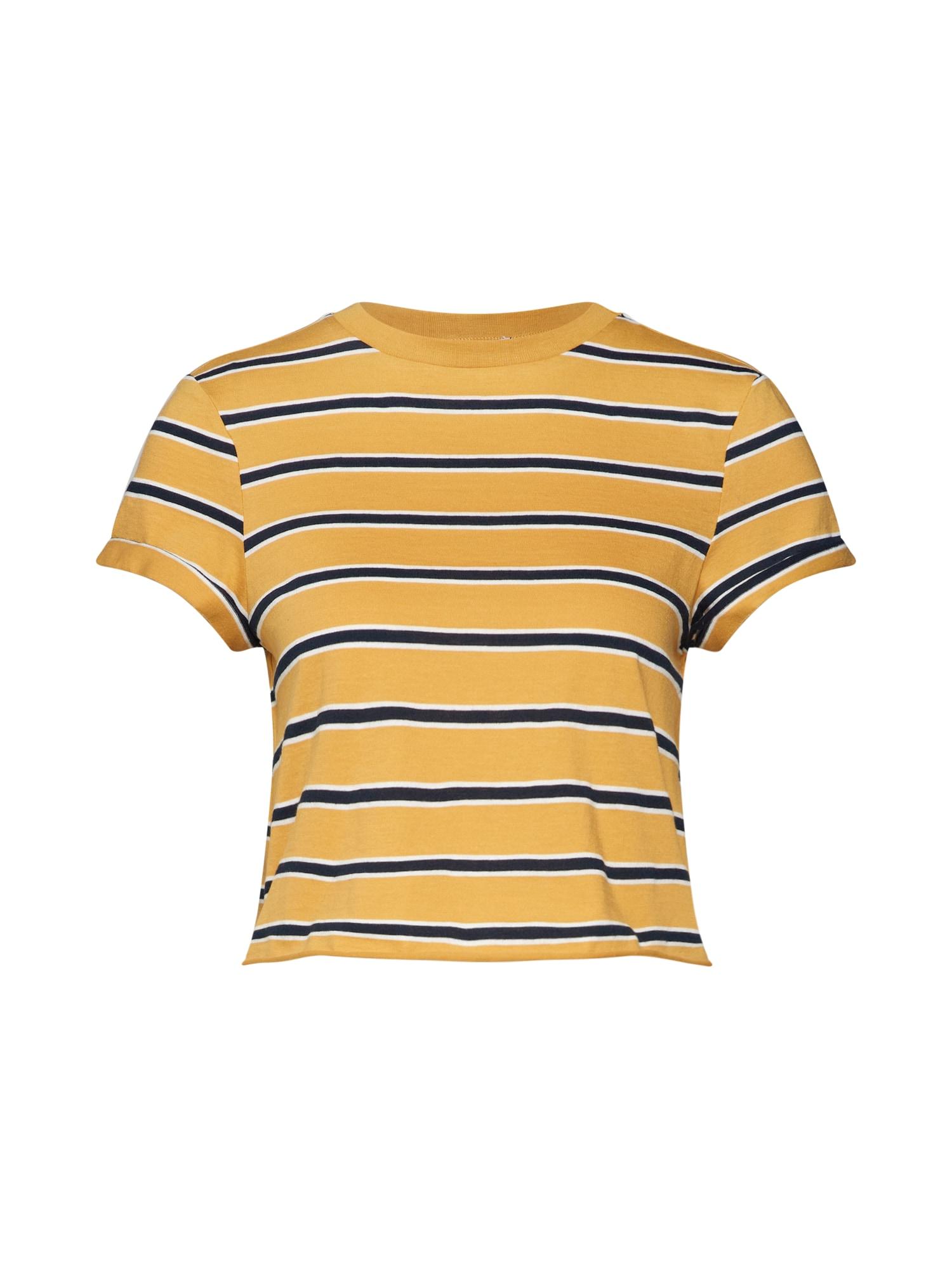 Tričko Alexis  námořnická modř  žlutá ABOUT YOU