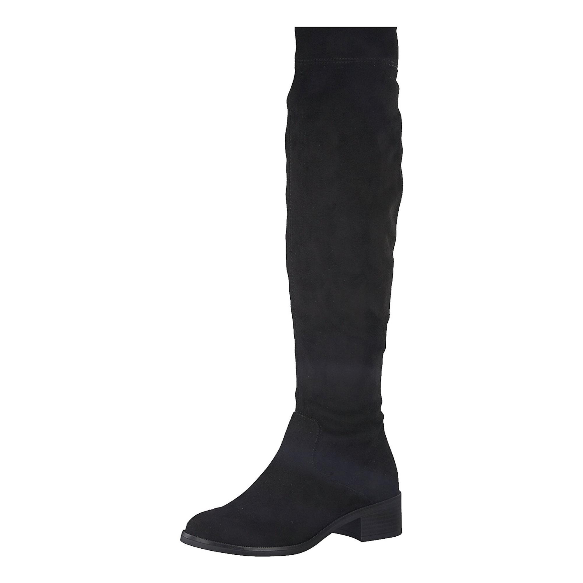 S.Oliver RED LABEL, Dames Overknee laarzen, zwart