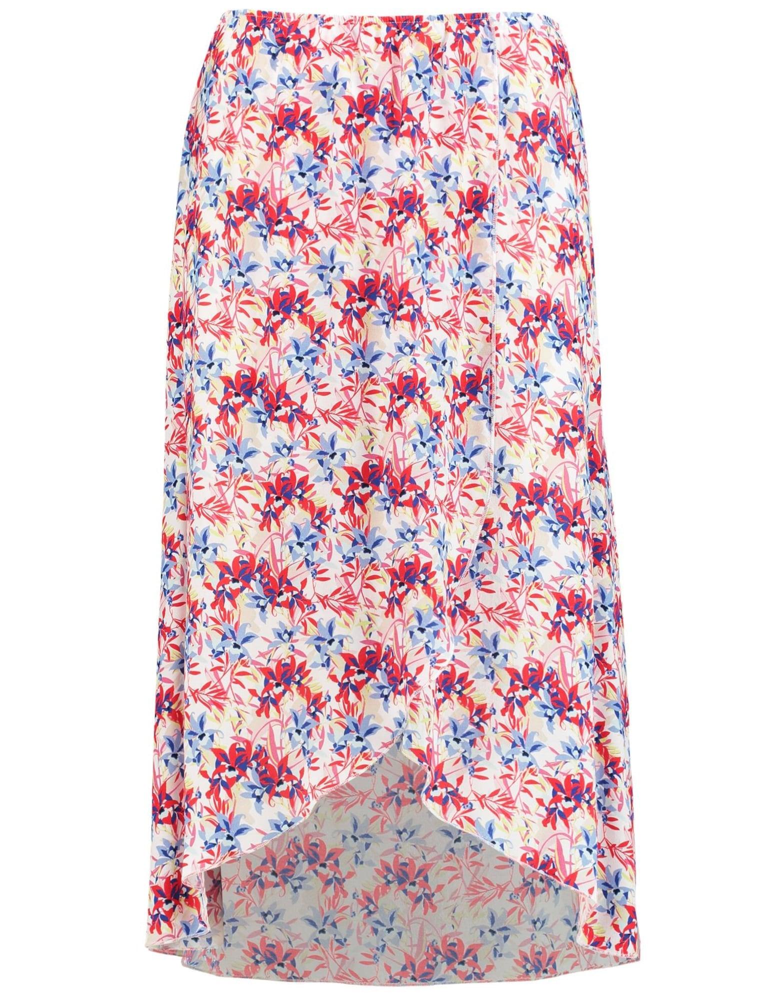 Sommerrock | Bekleidung > Röcke > Sommerröcke | Blau - Rot - Weiß | TAIFUN