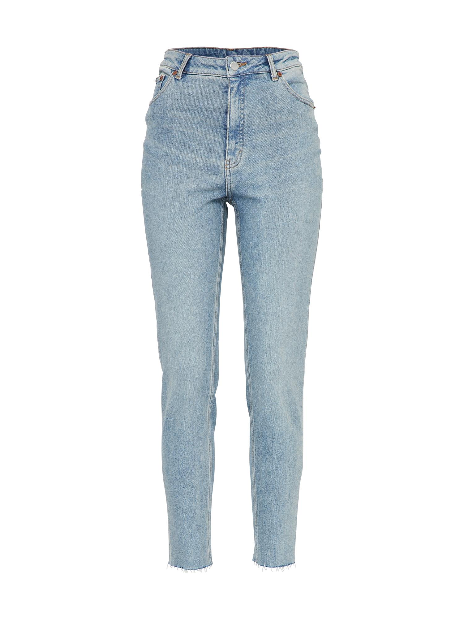CHEAP MONDAY Dames Jeans Donna lichtgrijs