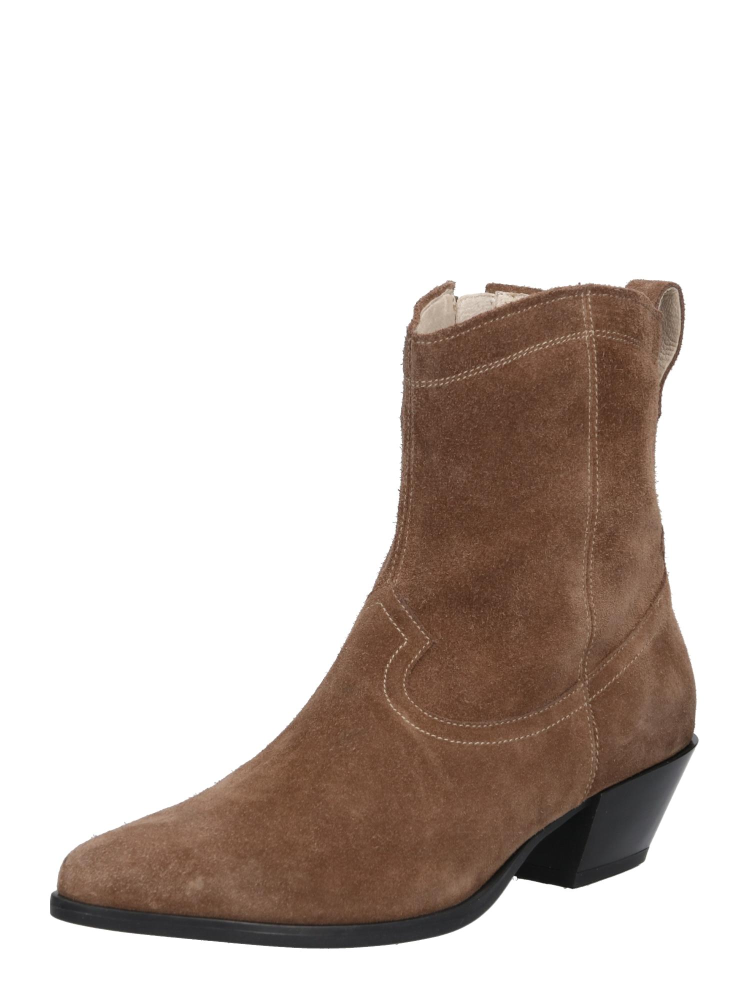 Kovbojské boty Emily šedobéžová VAGABOND SHOEMAKERS