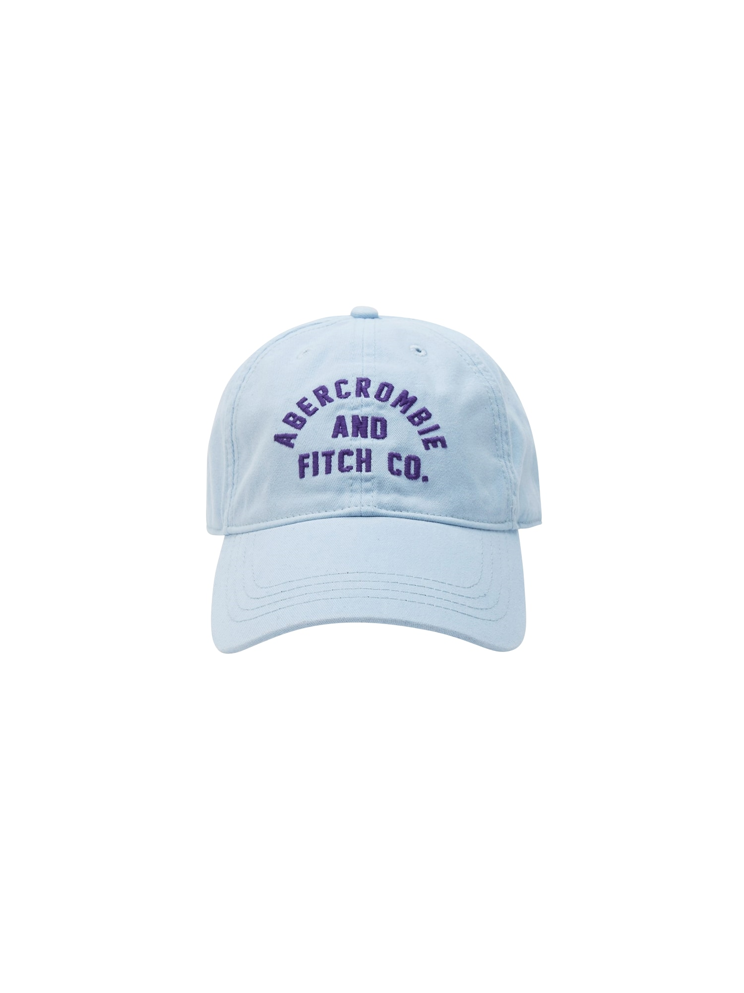 Kšiltovka (S-EF1423568) SP19-CORE LOGO CAP EXT 2CC $24 světlemodrá Abercrombie & Fitch
