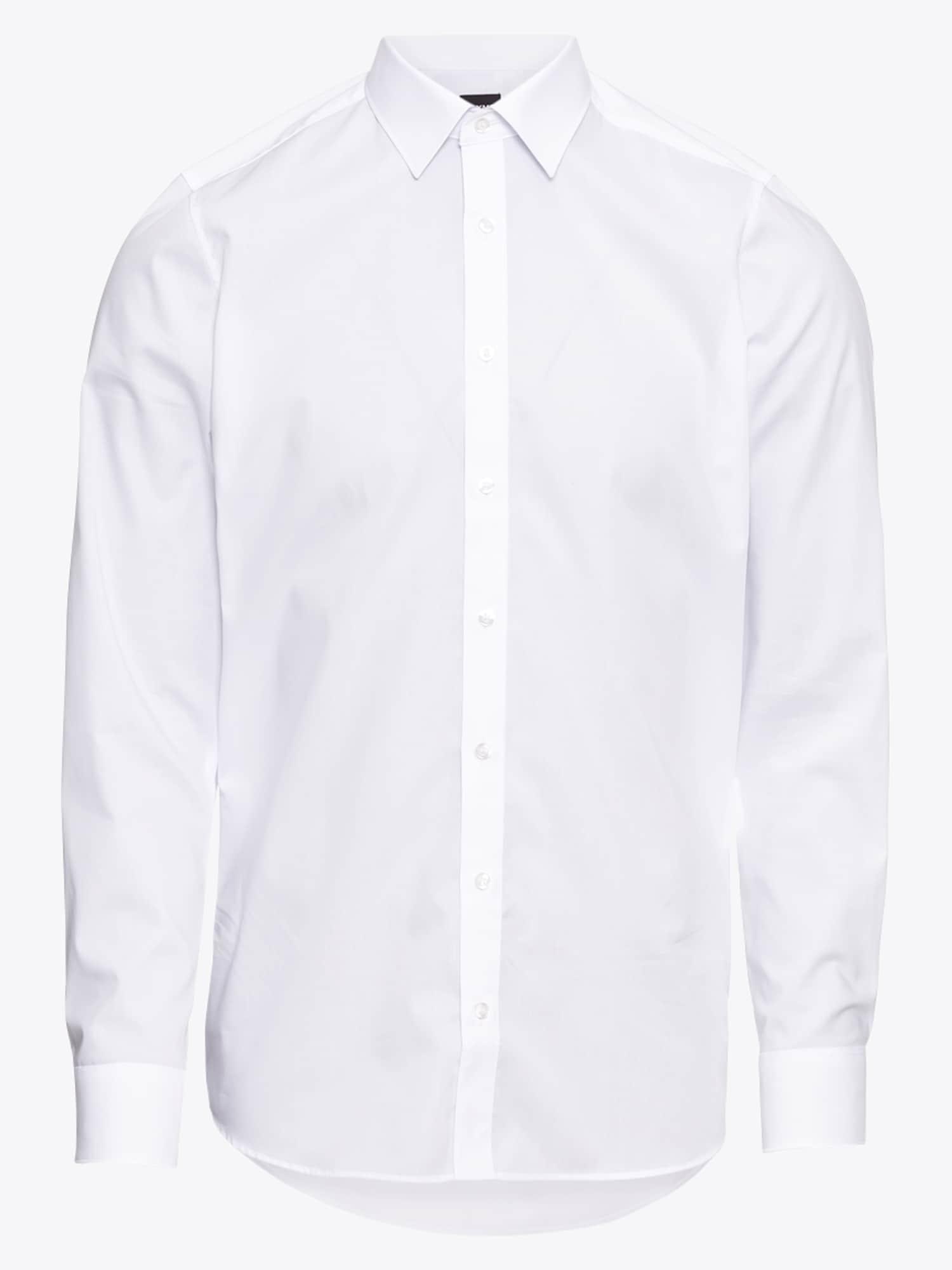 OLYMP, Heren Zakelijk overhemd 'Level 5 Uni Pop', wit